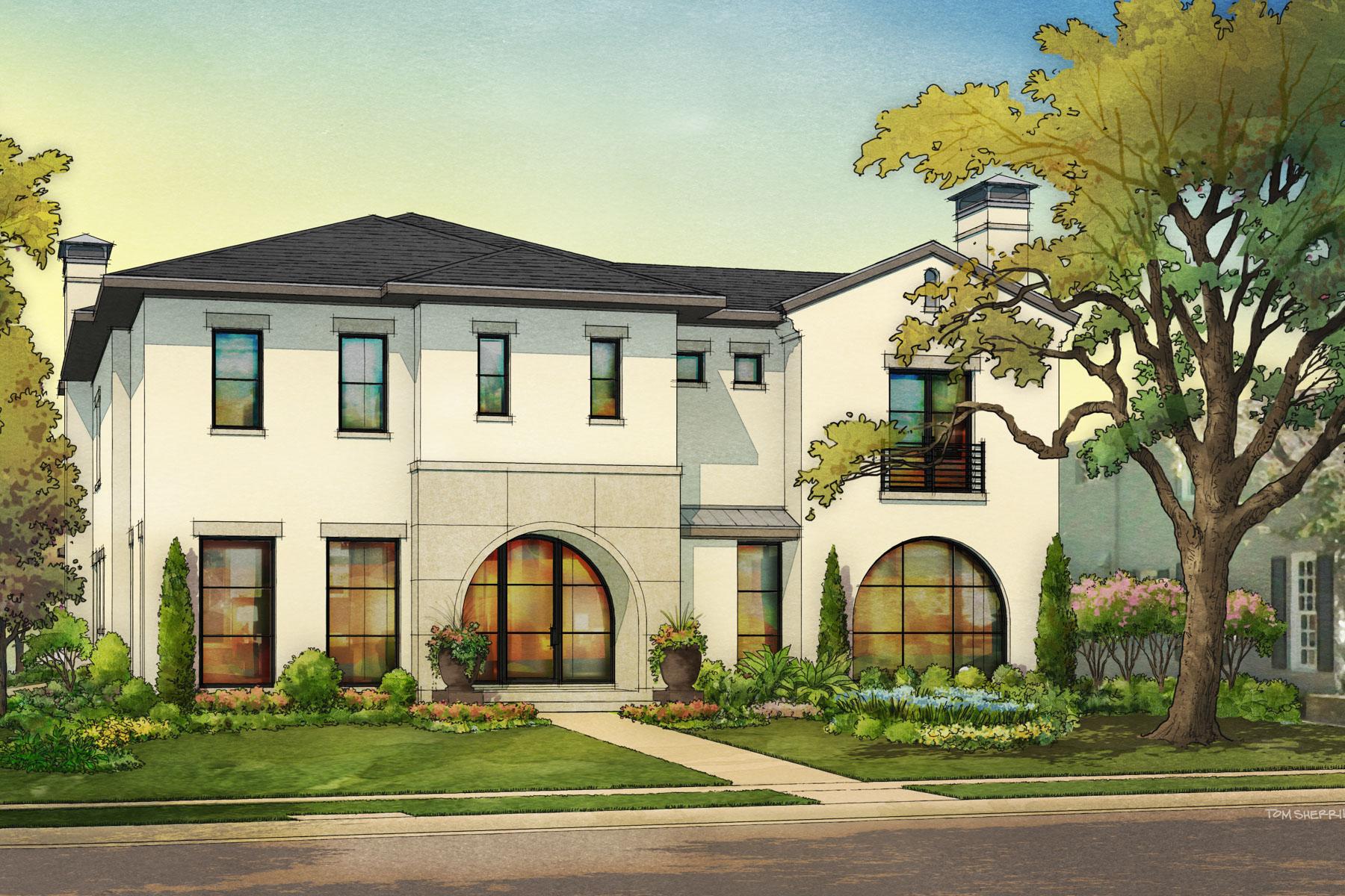 Maison unifamiliale pour l Vente à 4428 Lorraine Avenue, Dallas Dallas, Texas, 75205 États-Unis
