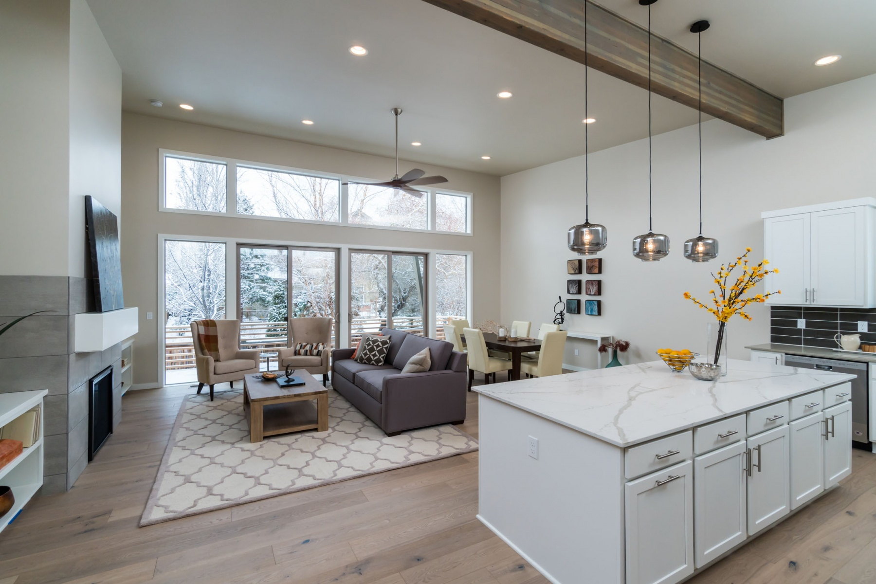 独户住宅 为 销售 在 Modern Single Level in Skystone 63153 Iner Loop 本德, 俄勒冈州, 97701 美国