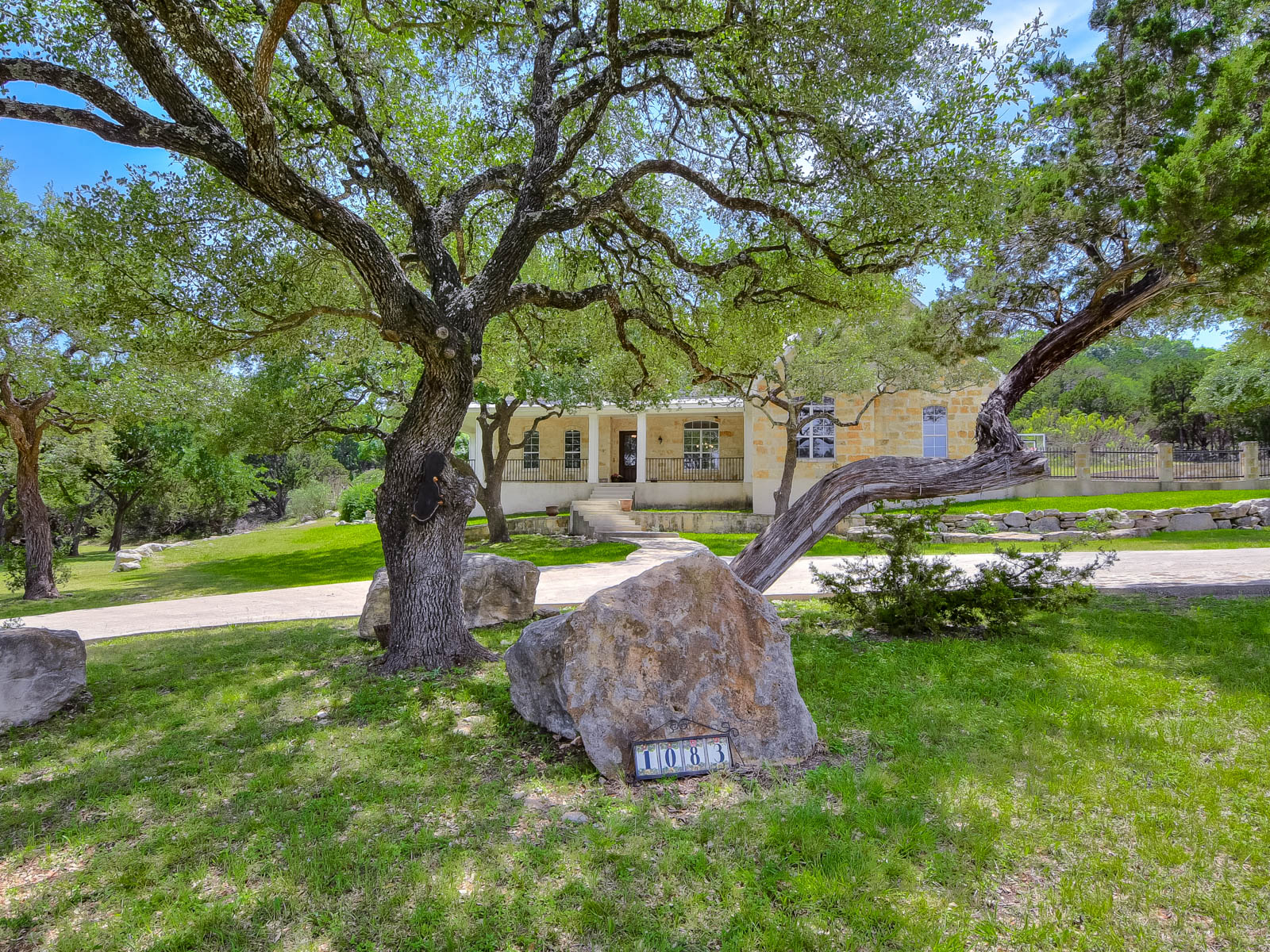 Single Family Home for Sale at Airport Custom Home at Kestrel Airpark 1083 Flightline Spring Branch, Texas 78070 United States
