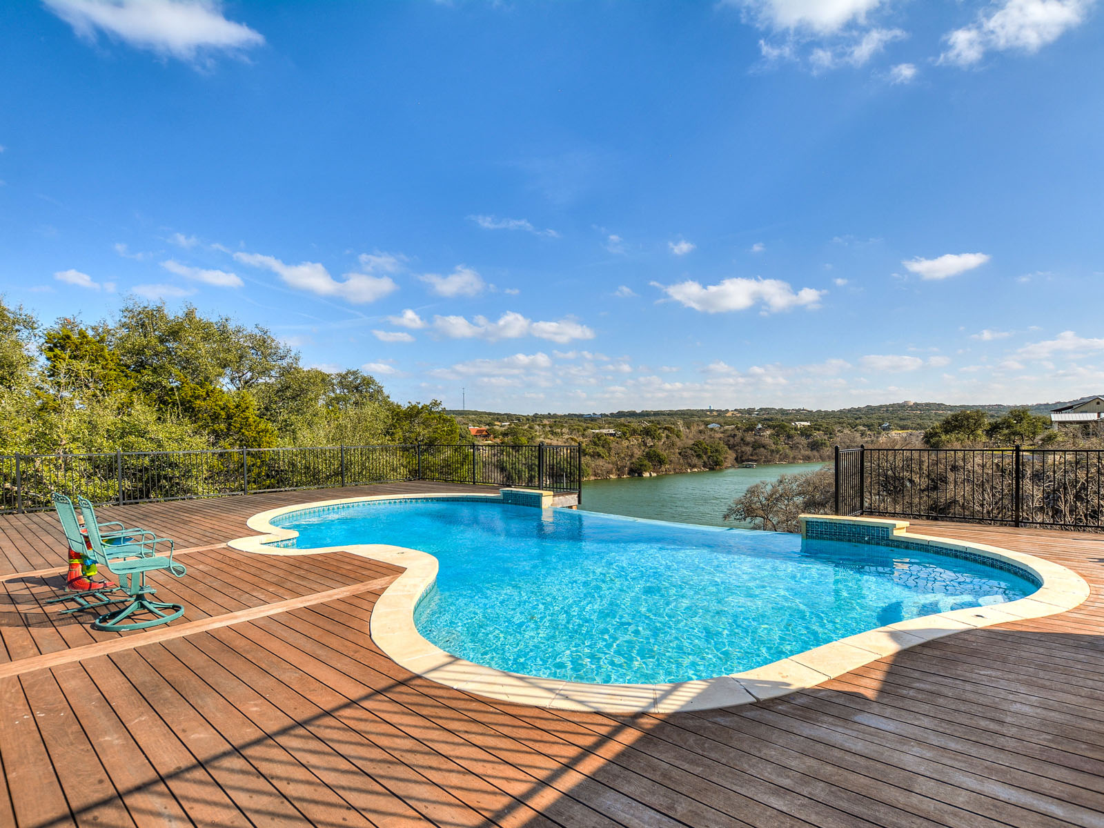 Single Family Home for Sale at Hill Country Estate on the River 23704 Replica Rd Spicewood, Texas 78669 United States