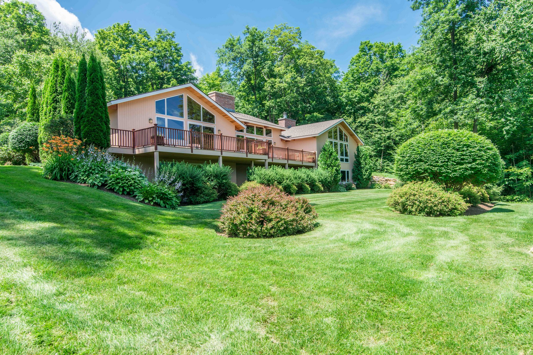 Single Family Home for Sale at Immaculate Contemporary With Views 815 Sleighbell Ln Dorset, Vermont, 05251 United States