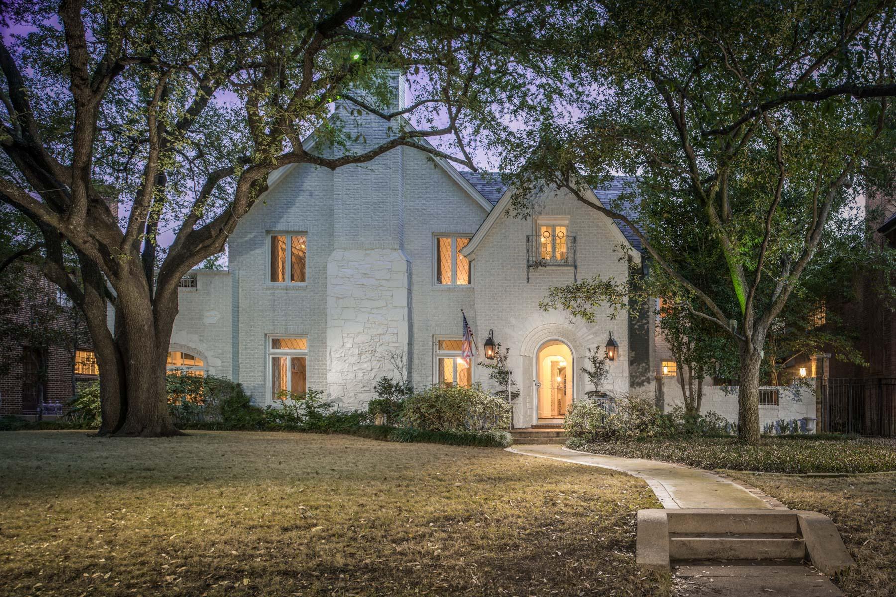 Tek Ailelik Ev için Satış at Architectural Integrity Meets Exceptional Taste 4331 Lorraine Ave Highland Park, Teksas, 75205 Amerika Birleşik Devletleri