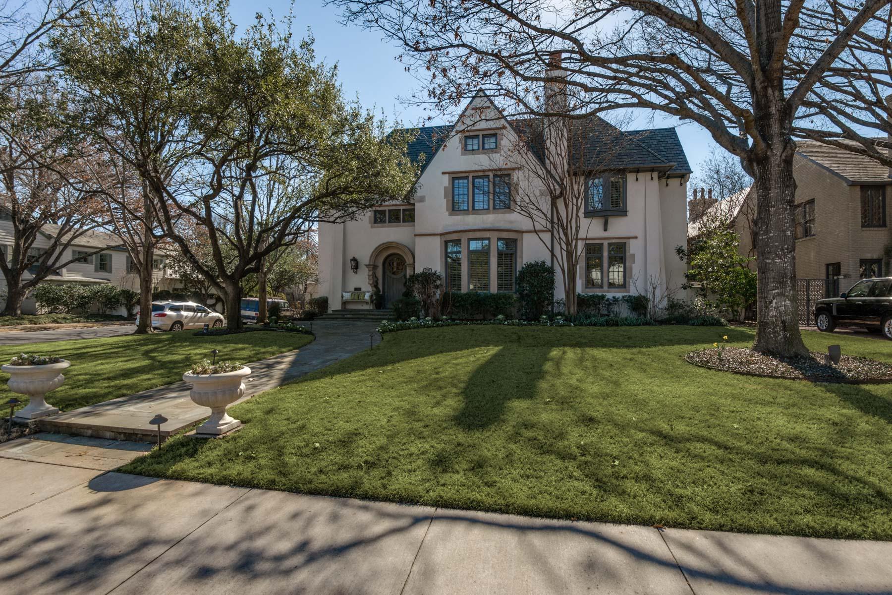 Частный односемейный дом для того Продажа на Stellar Construction in Sterling Location 4201 Windsor Pkwy Dallas, Техас, 75205 Соединенные Штаты