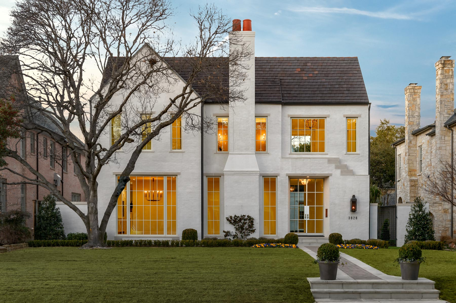 Single Family Home for Sale at Timeless Transitional in University Park 3828 Greenbrier Dr Dallas, Texas, 75225 United States