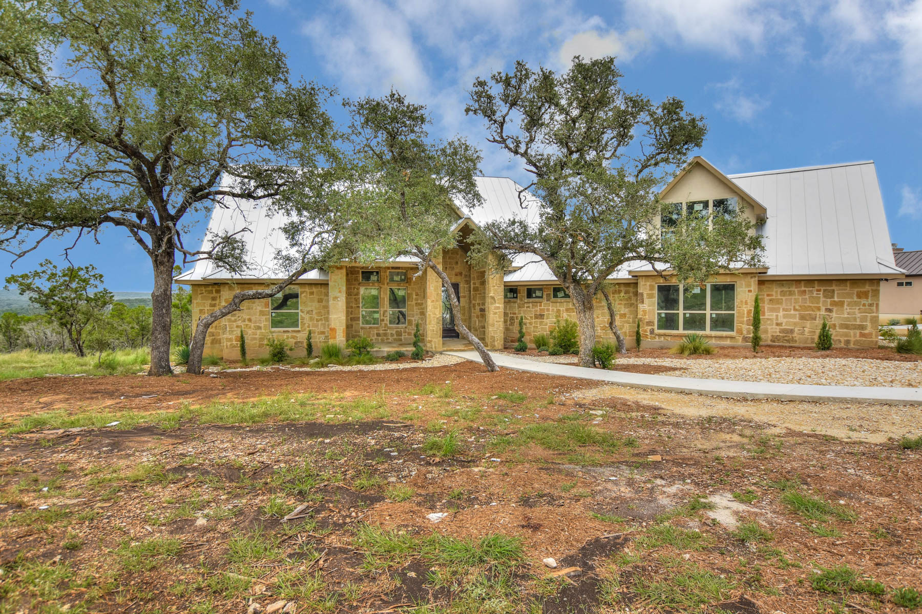 Single Family Home for Sale at Extraordinary Views from this Gorgeous Custom Home 522 Cantera Ridge New Braunfels, Texas 78132 United States