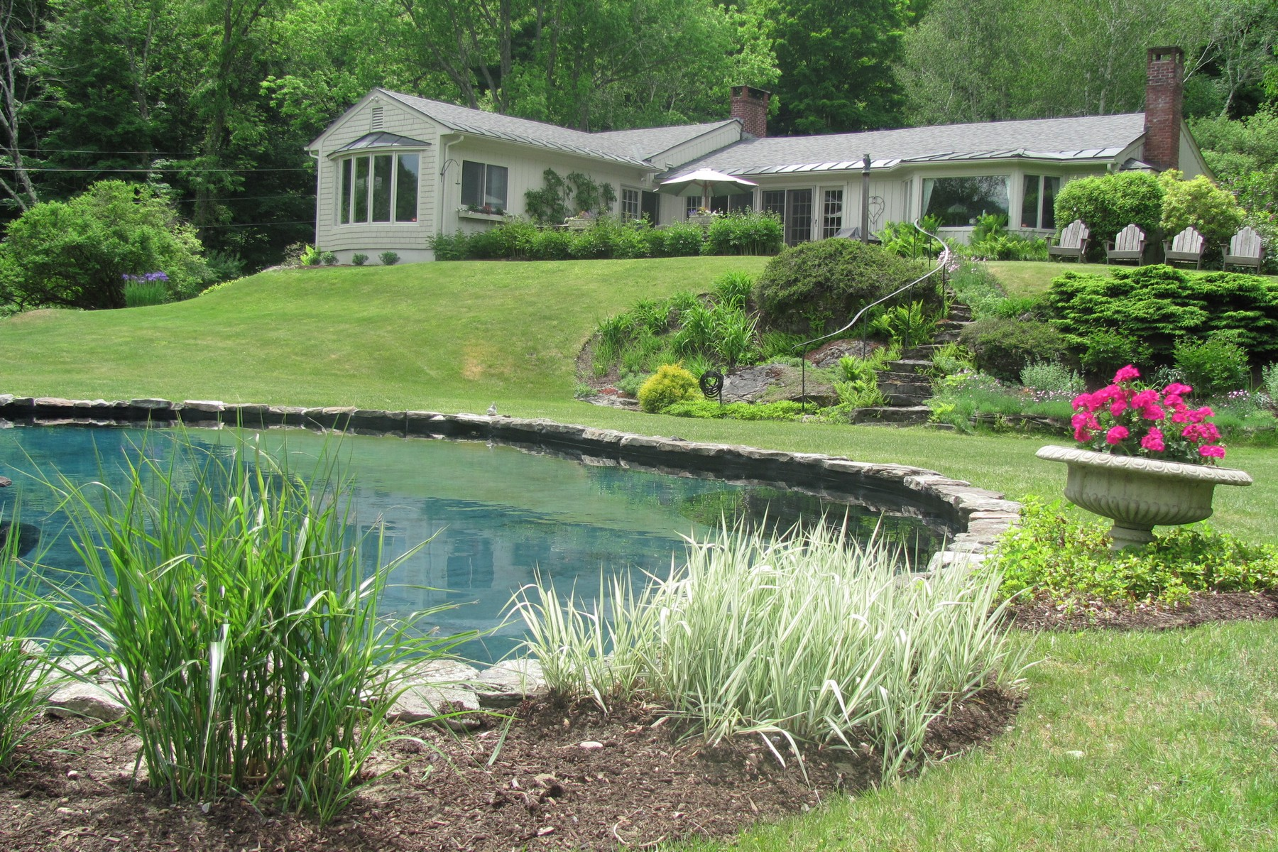 Single Family Home for Sale at Spring Hill Elegance 143 Spring Hill Ln Dorset, Vermont, 05251 United States