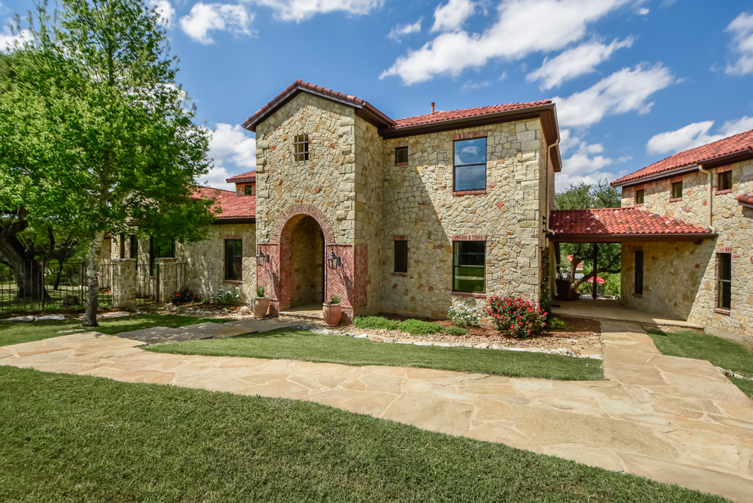 Single Family Home for Sale at Authentic Italian Country Farmhouse 453 Covered Bridge Dr Driftwood, Texas 78619 United States