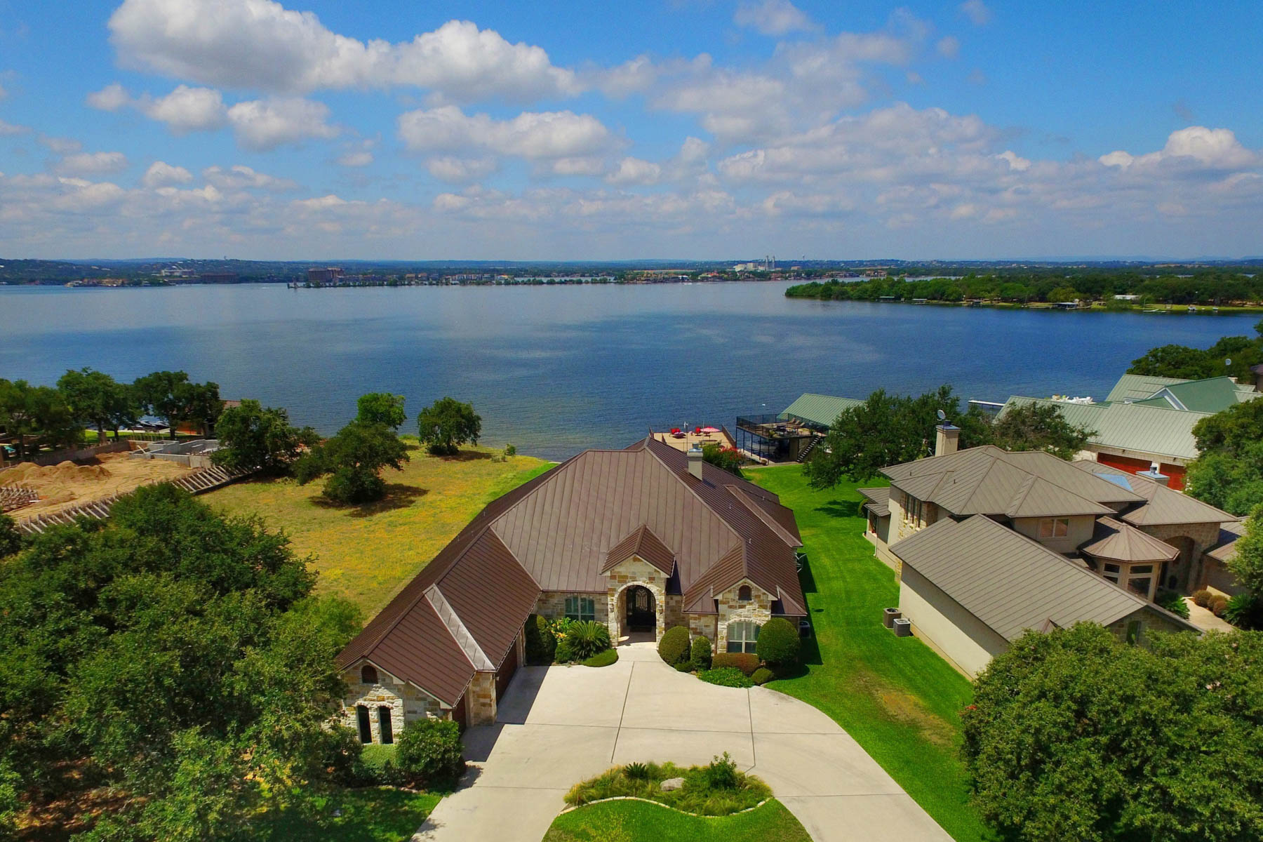 Single Family Home for Sale at Absolute Paradise on Lake LBJ 125 Wilderness Cv Marble Falls, Texas, 78654 United States