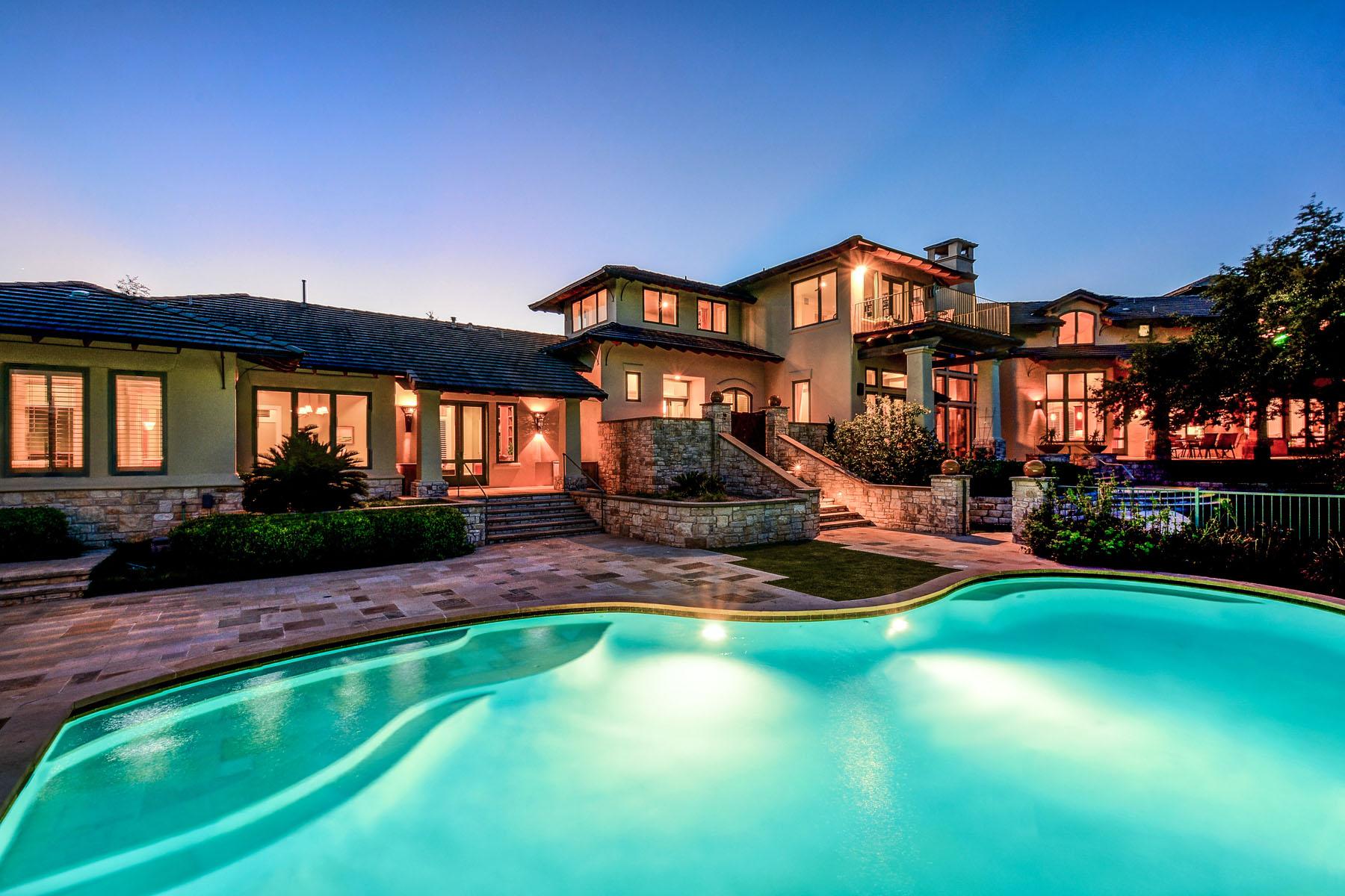 Single Family Home for Sale at Sprawling Barton Creek Estate 8606 Navidad Dr Austin, Texas 78735 United States