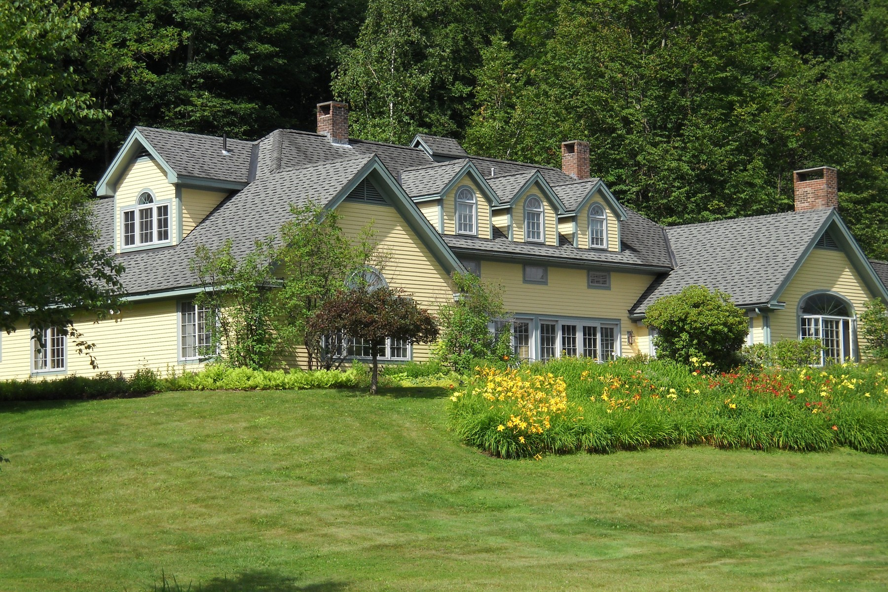 Single Family Home for Sale at Elegant Contemporary on 72 Acres 208 Lower Hollow Rd Dorset, Vermont, 05251 United States