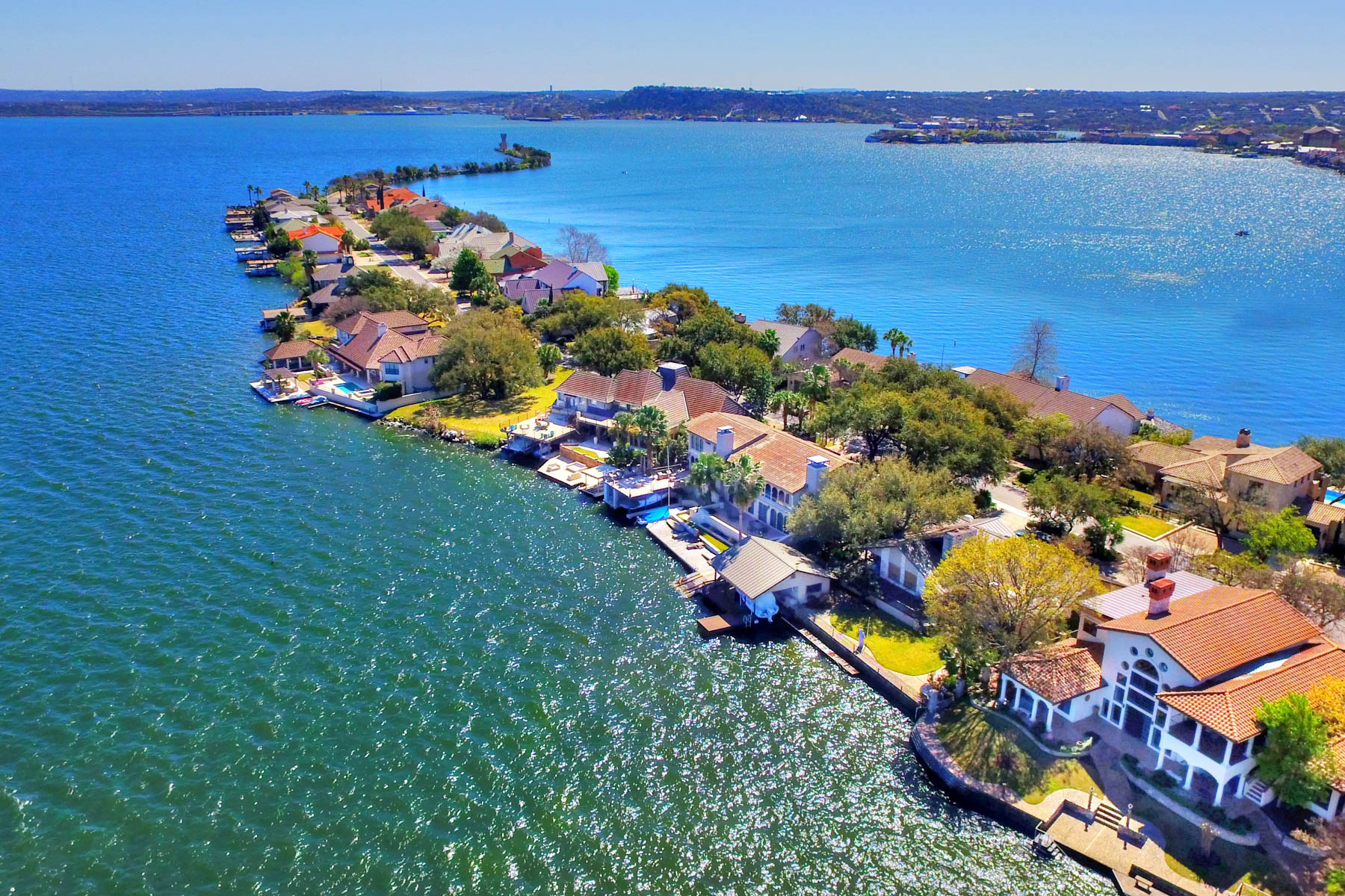 Single Family Home for Sale at Love it to the Moon and Back! 416 Lighthouse Dr Horseshoe Bay, Texas 78765 United States