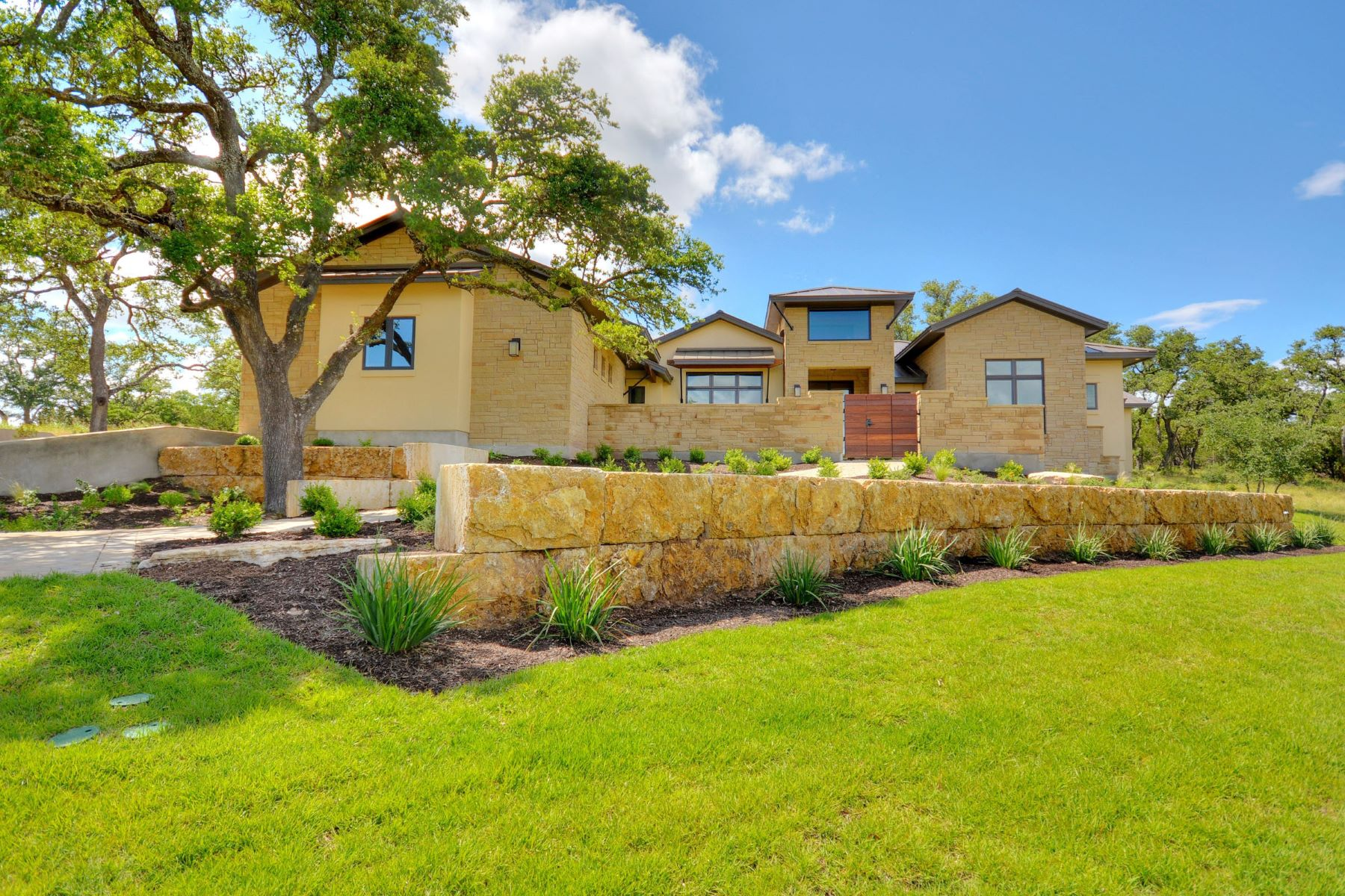 Single Family Home for Sale at Hill Country Contemporary 18309 Flagler Dr Austin, Texas, 78738 United States