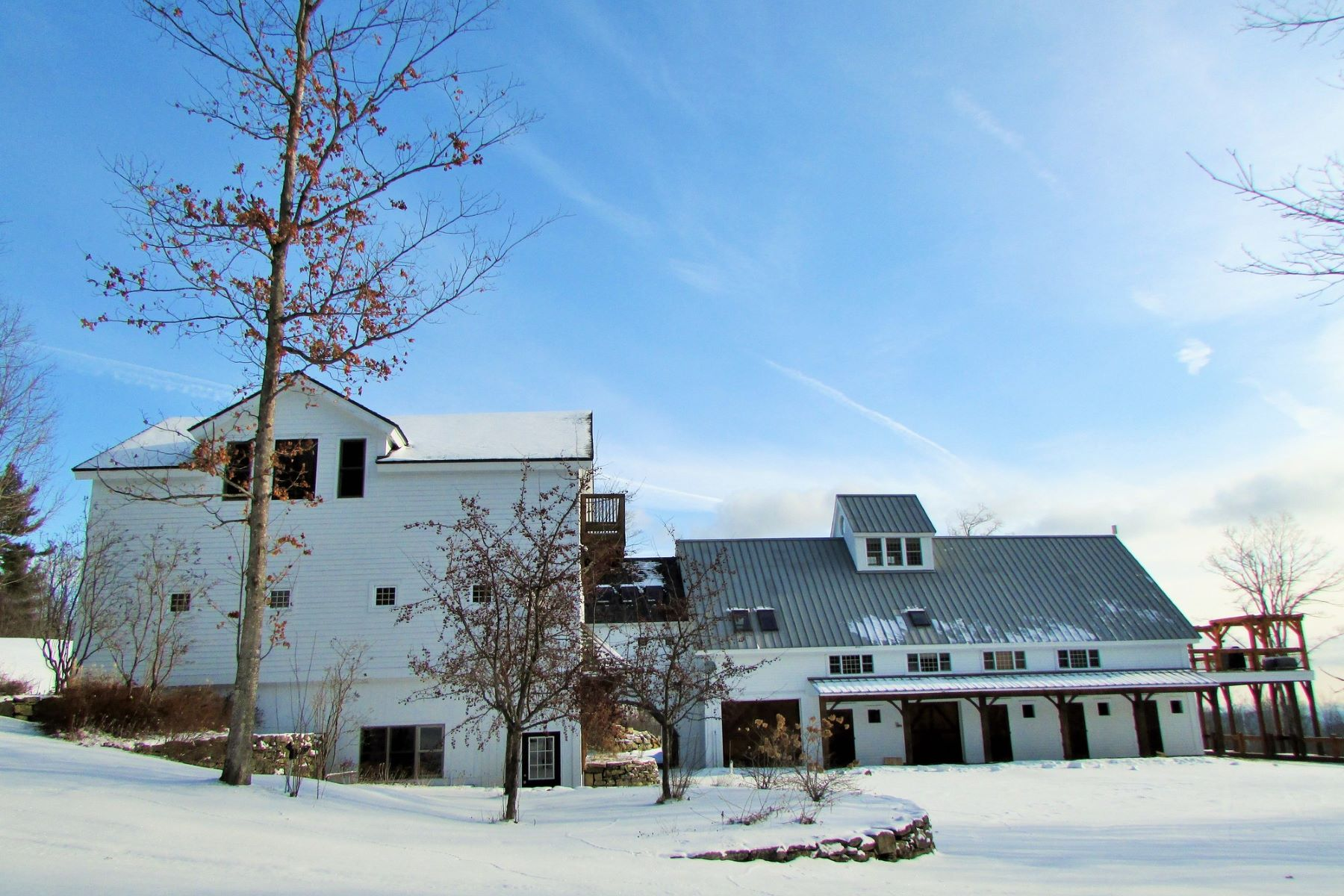 Casa para uma família para Venda às Custom Timber Frame with Panoramic Views 235 Dover Hill Rd Dover, Vermont, 05356 Estados Unidos