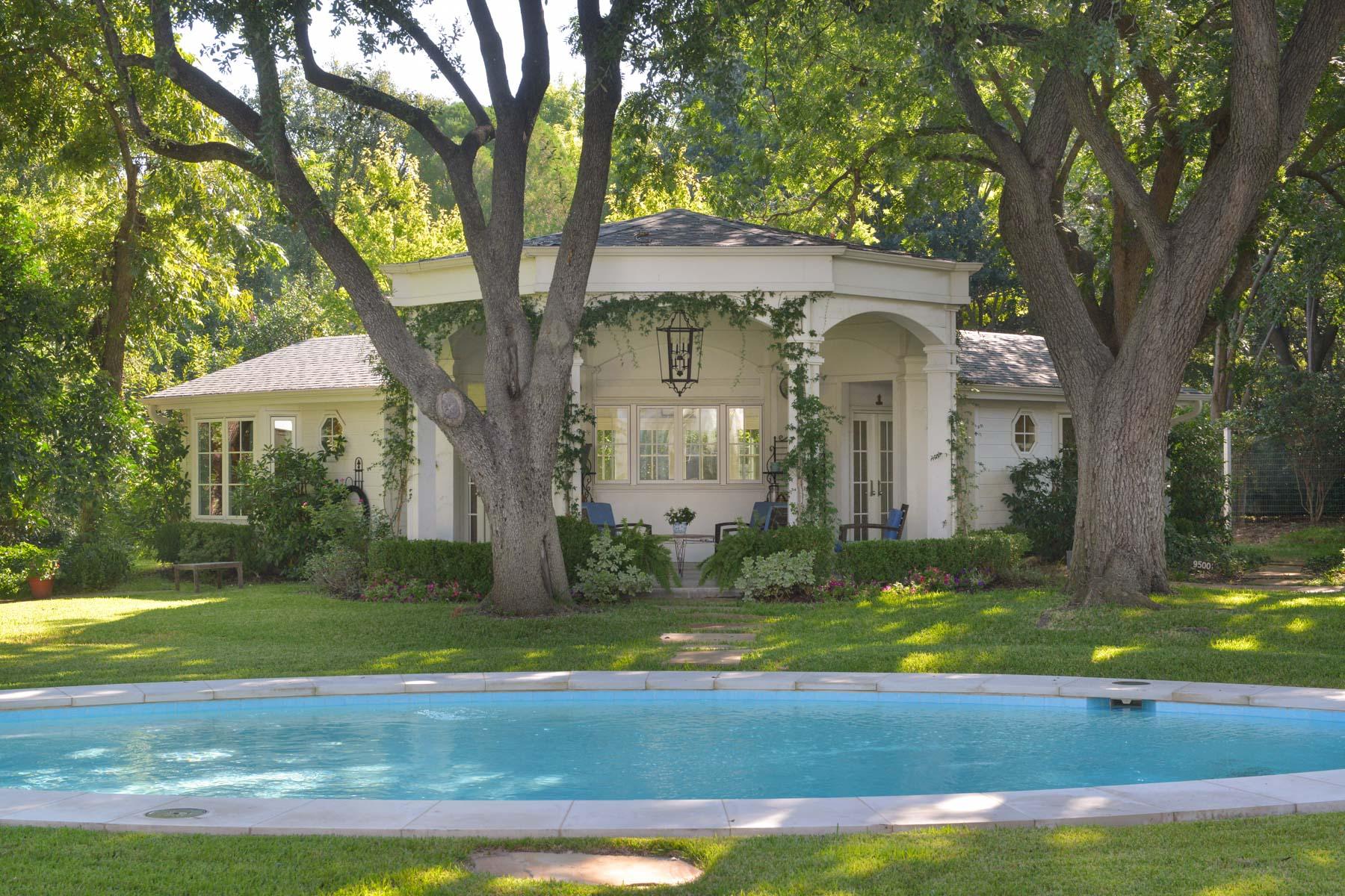 Casa Unifamiliar por un Venta en 9500 Inwood Road, Dallas 9500 Inwood Rd Dallas, Texas, 75220 Estados Unidos