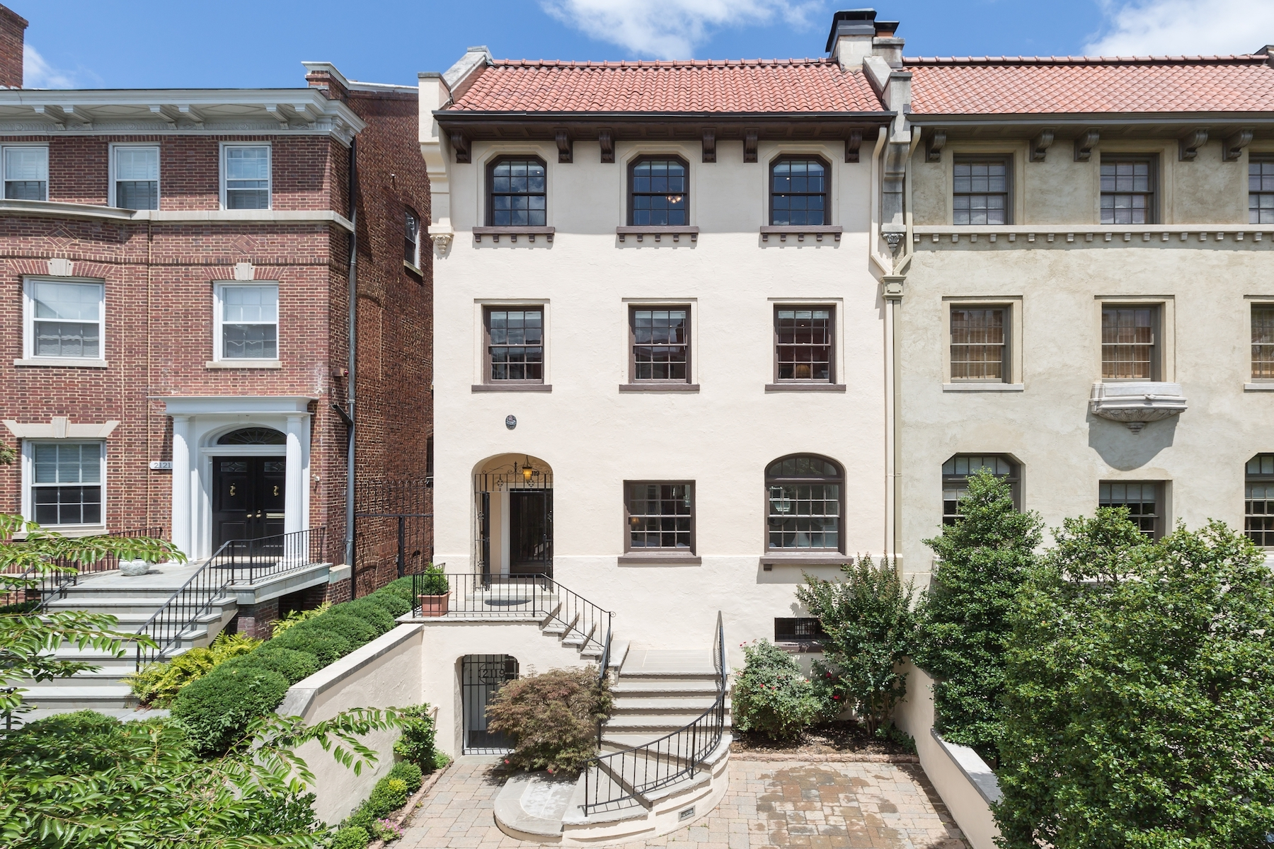 Casa unifamiliar adosada (Townhouse) por un Venta en Kalorama 2119 Leroy Place Nw Washington, Distrito De Columbia, 20008 Estados Unidos