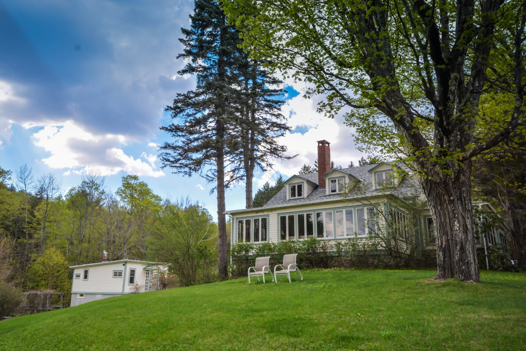 Single Family Home for Sale at Vintage Cape on 139+ Acres 153 Lorchs Hill Rd Wardsboro, Vermont, 05360 United States