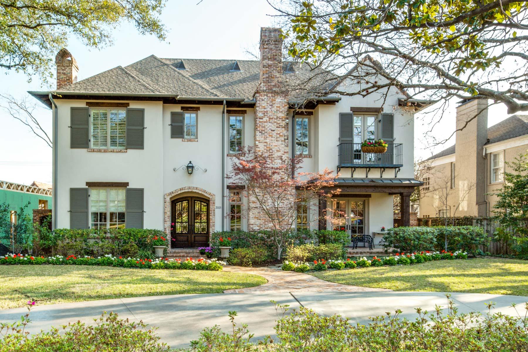 Einfamilienhaus für Verkauf beim Southern A. Hays Towns Inspired Home 3021 Southwestern Blvd Dallas, Texas, 75225 Vereinigte Staaten