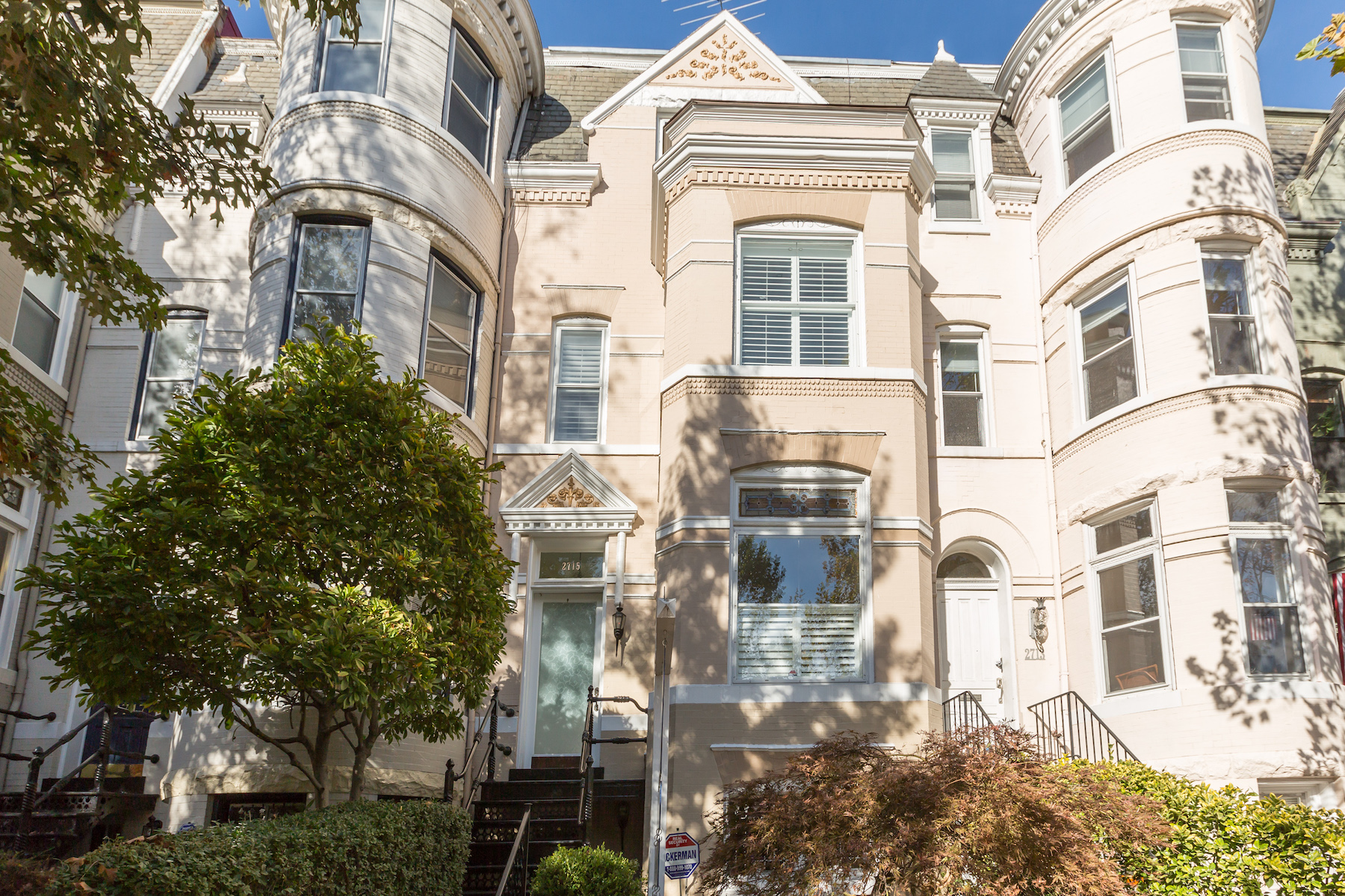 Townhouse for Sale at 2715 P Street Nw, Washington Georgetown, Washington, District Of Columbia, 20007 United States