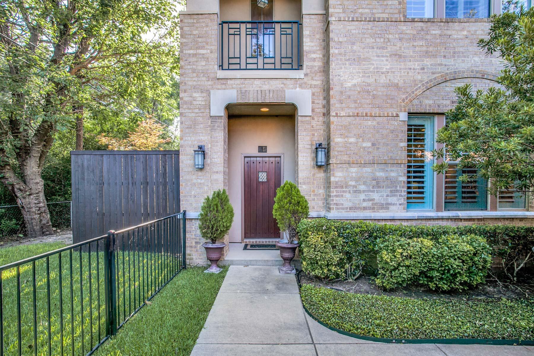 Nhà ở một gia đình vì Bán tại Regency at Lakewood Condo/Townhome #16 6269 Oram St 16 Dallas, Texas, 75214 Hoa Kỳ