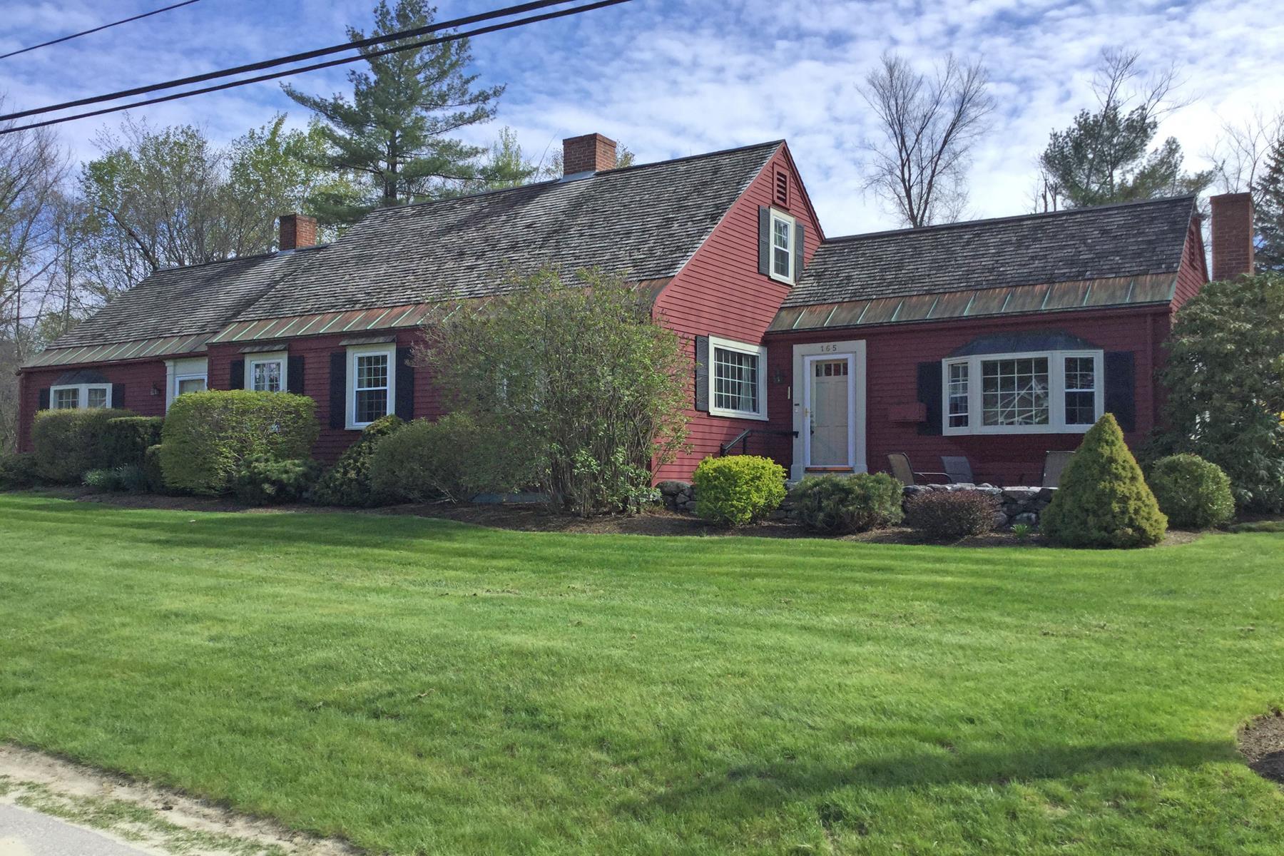 Частный односемейный дом для того Продажа на 165 Everett, New London New London, Нью-Гэмпшир, 03257 Соединенные Штаты