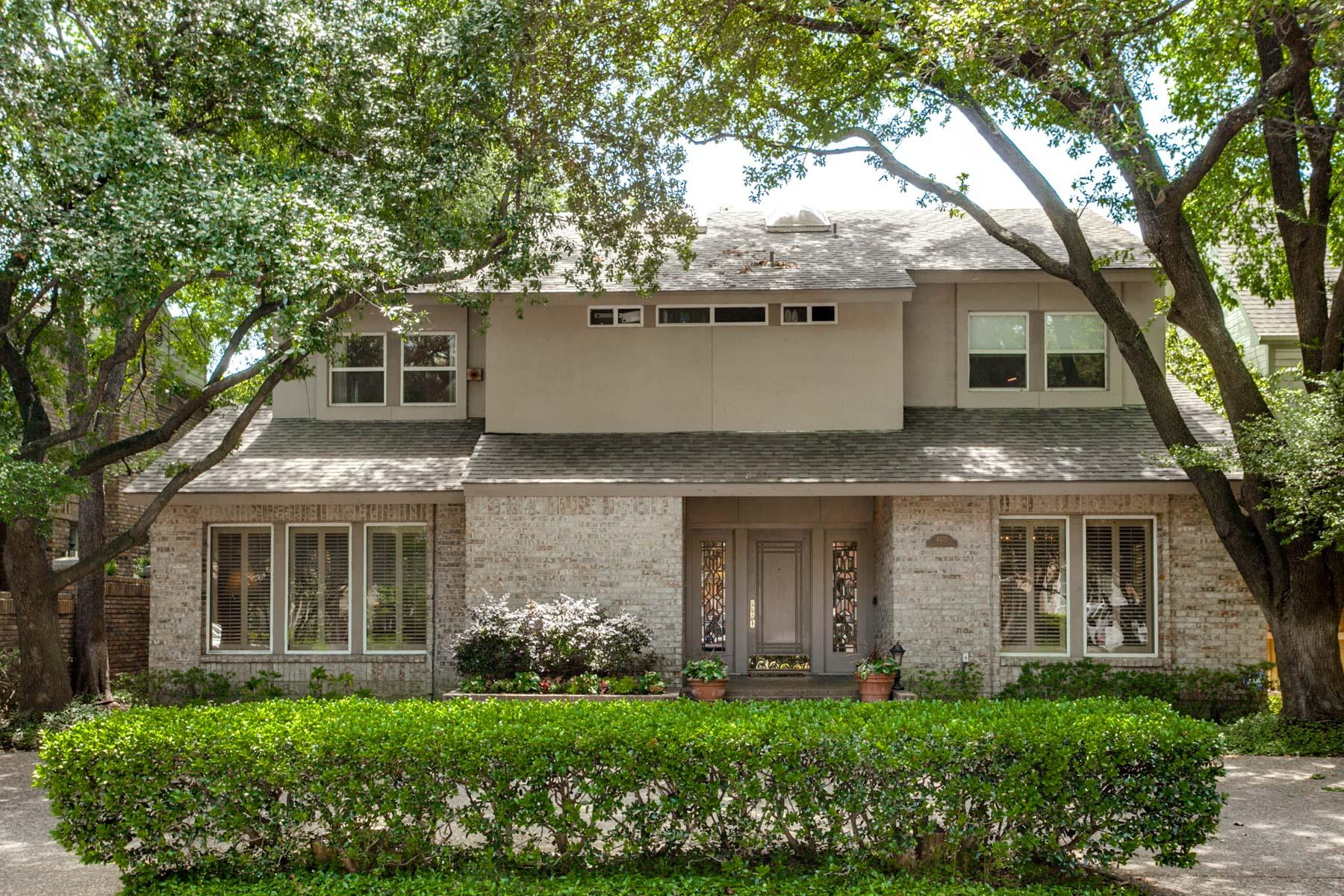 Maison unifamiliale pour l Vente à Classic Contemporary 4105 Shenandoah St Dallas, Texas, 75205 États-Unis