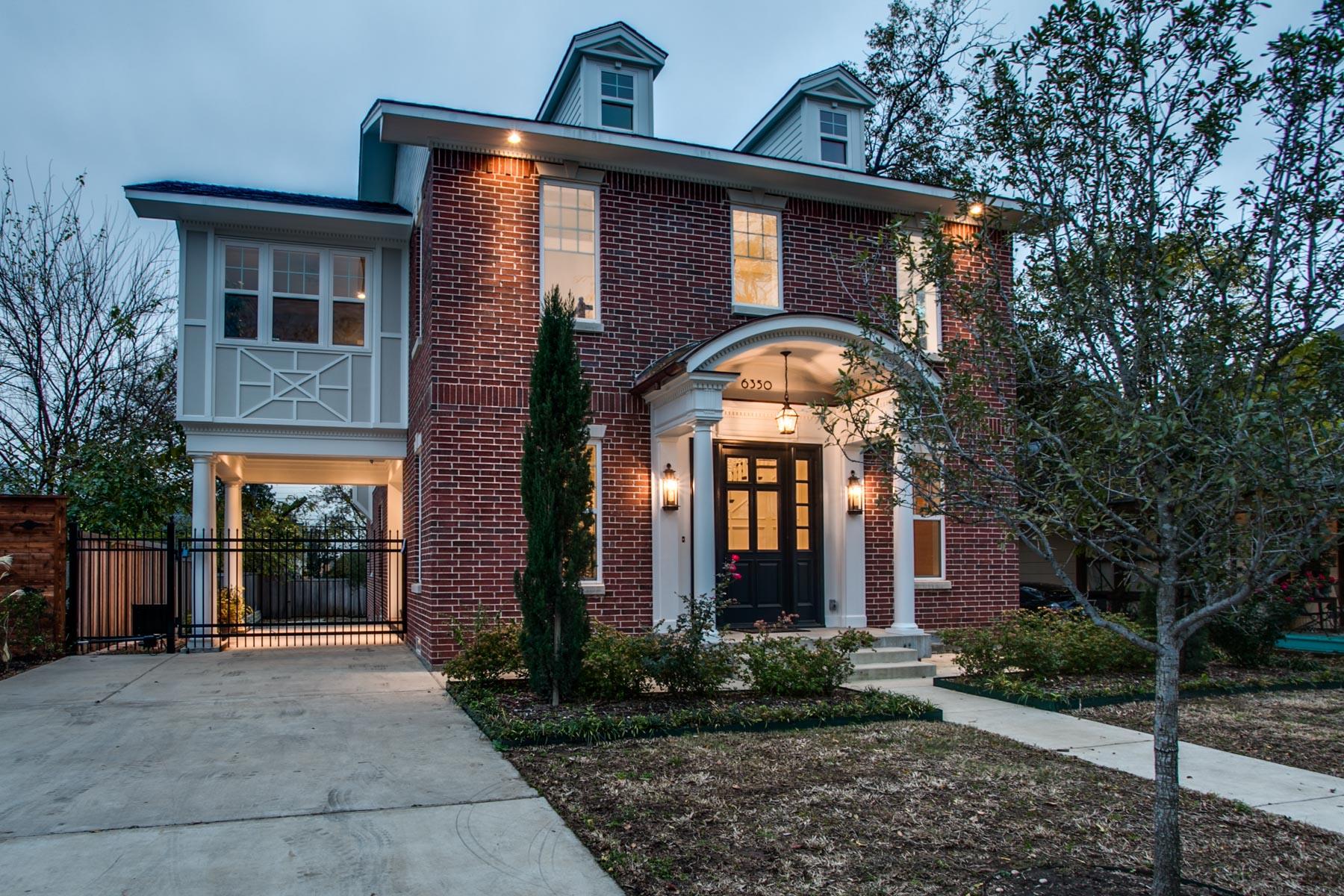 Maison unifamiliale pour l Vente à 6350 Belmont Ave, Dallas Dallas, Texas, 75214 États-Unis