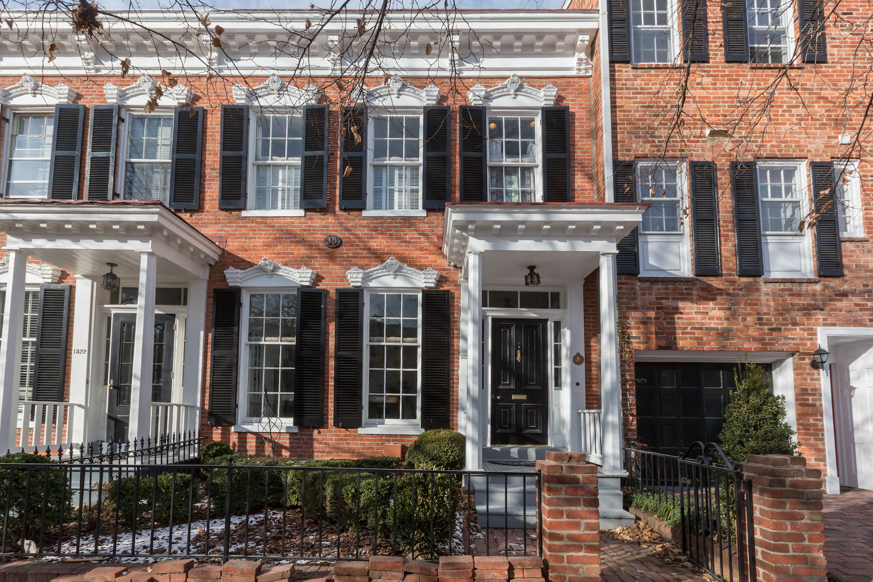 Casa unifamiliar adosada (Townhouse) por un Alquiler en Georgetown 1324 30th Street Nw Washington, Distrito De Columbia 20007 Estados Unidos