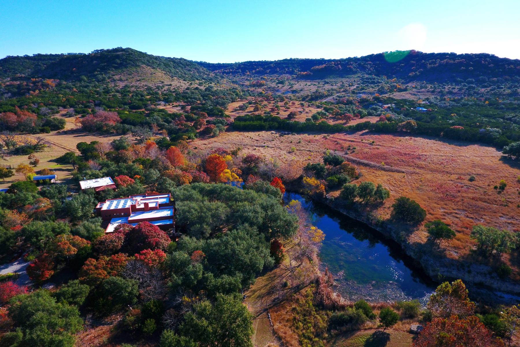 Farm / Ranch / Plantation for Sale at Gorgeous Southwest Meets Eco Home on 150 Acres 4198 Bear Springs Rd Pipe Creek, Texas 78063 United States