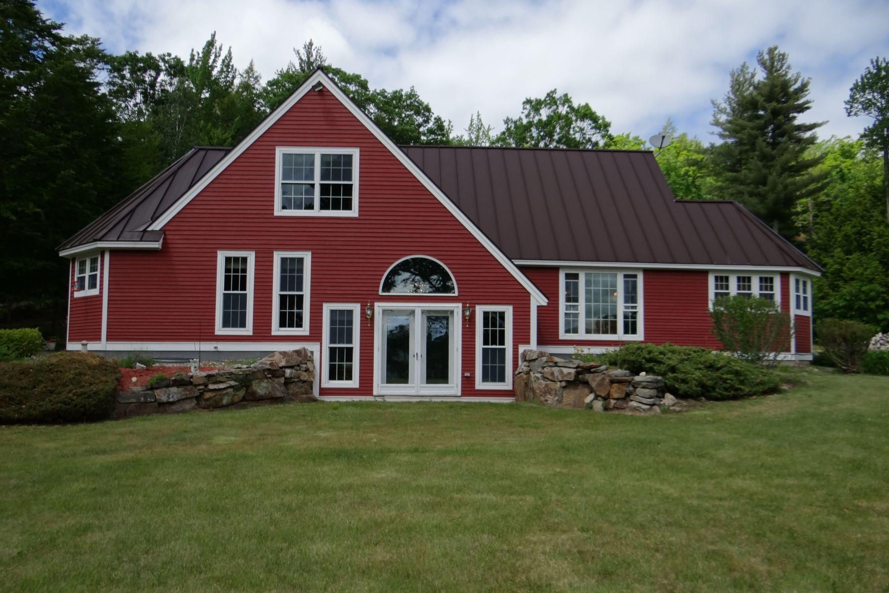 独户住宅 为 销售 在 Energy efficient with passive solar 135 Gove Rd Newport, 新罕布什尔州, 03773 美国