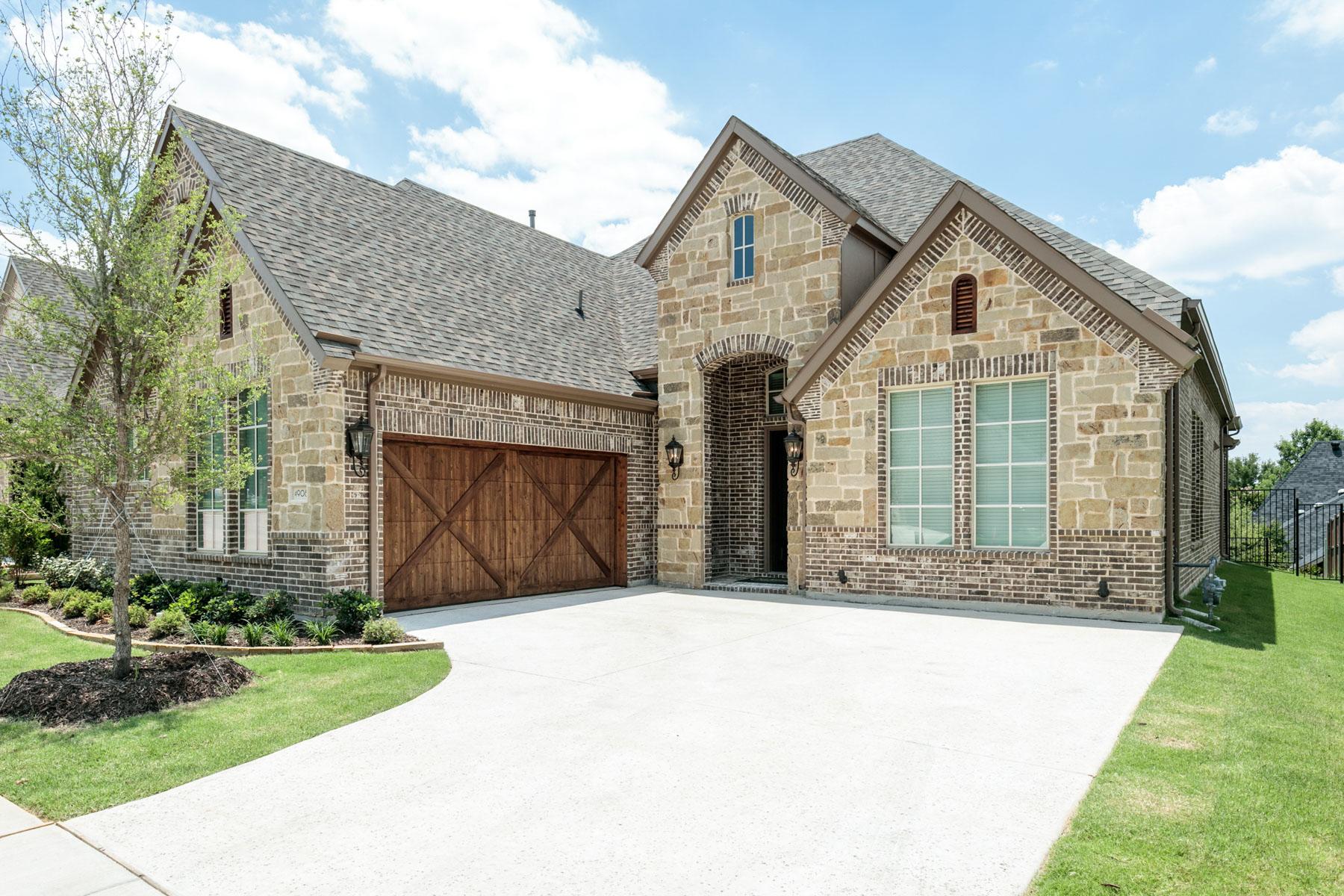 Частный односемейный дом для того Продажа на One Story New Construction 4908 Preservation Ave Colleyville, Техас, 76034 Соединенные Штаты