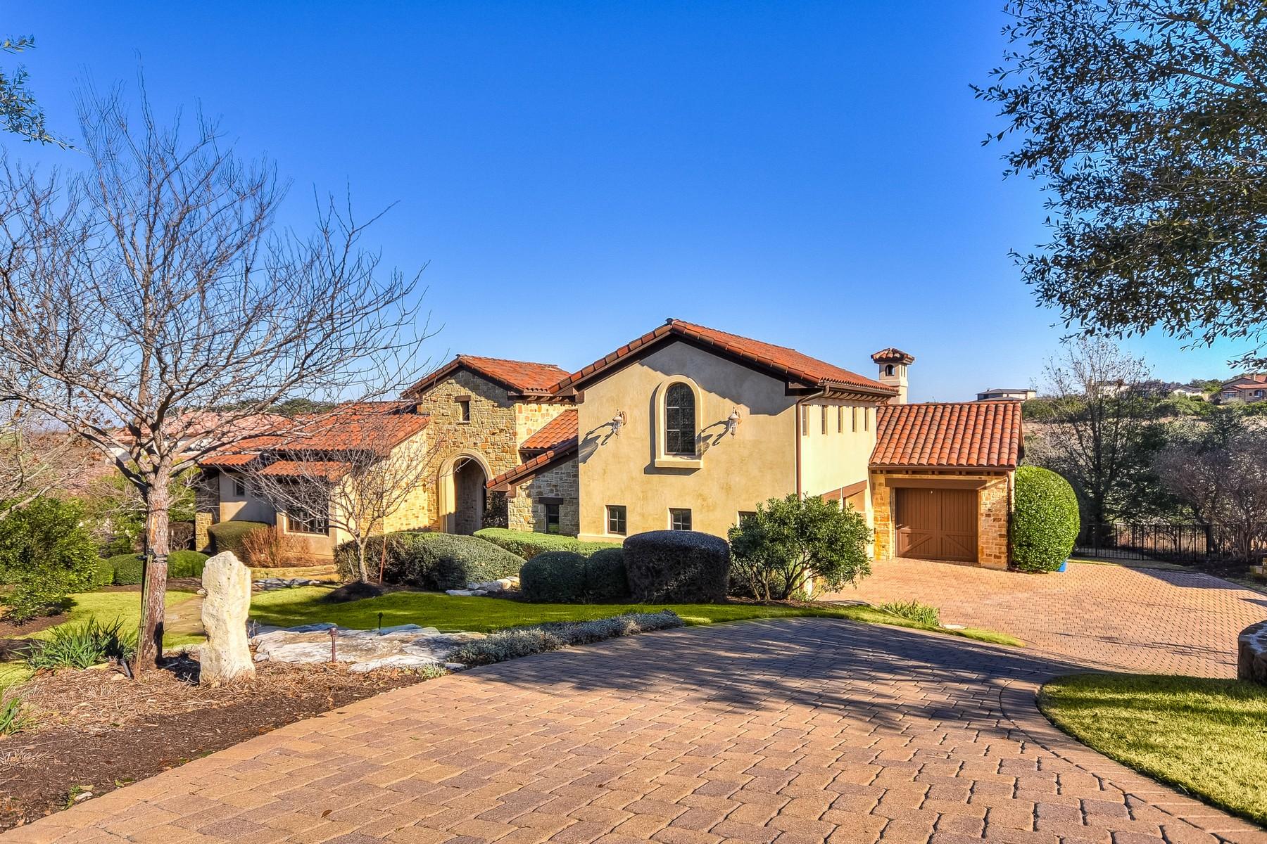 Single Family Home for Sale at Custom Built in Prestigious Spanish Oaks 5700 Spanish Oaks Club Blvd Austin, Texas 78738 United States