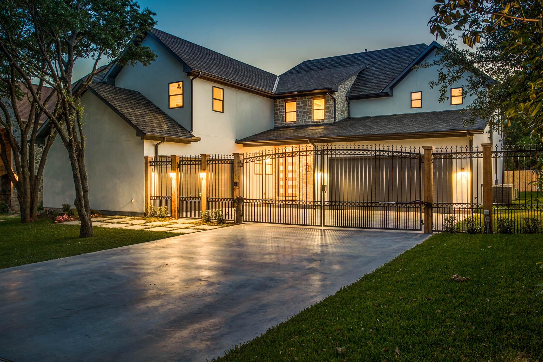 獨棟家庭住宅 為 出售 在 Stunning Midway Hollow Home 9415 Thornberry Ln Dallas, 德克薩斯州, 75220 美國