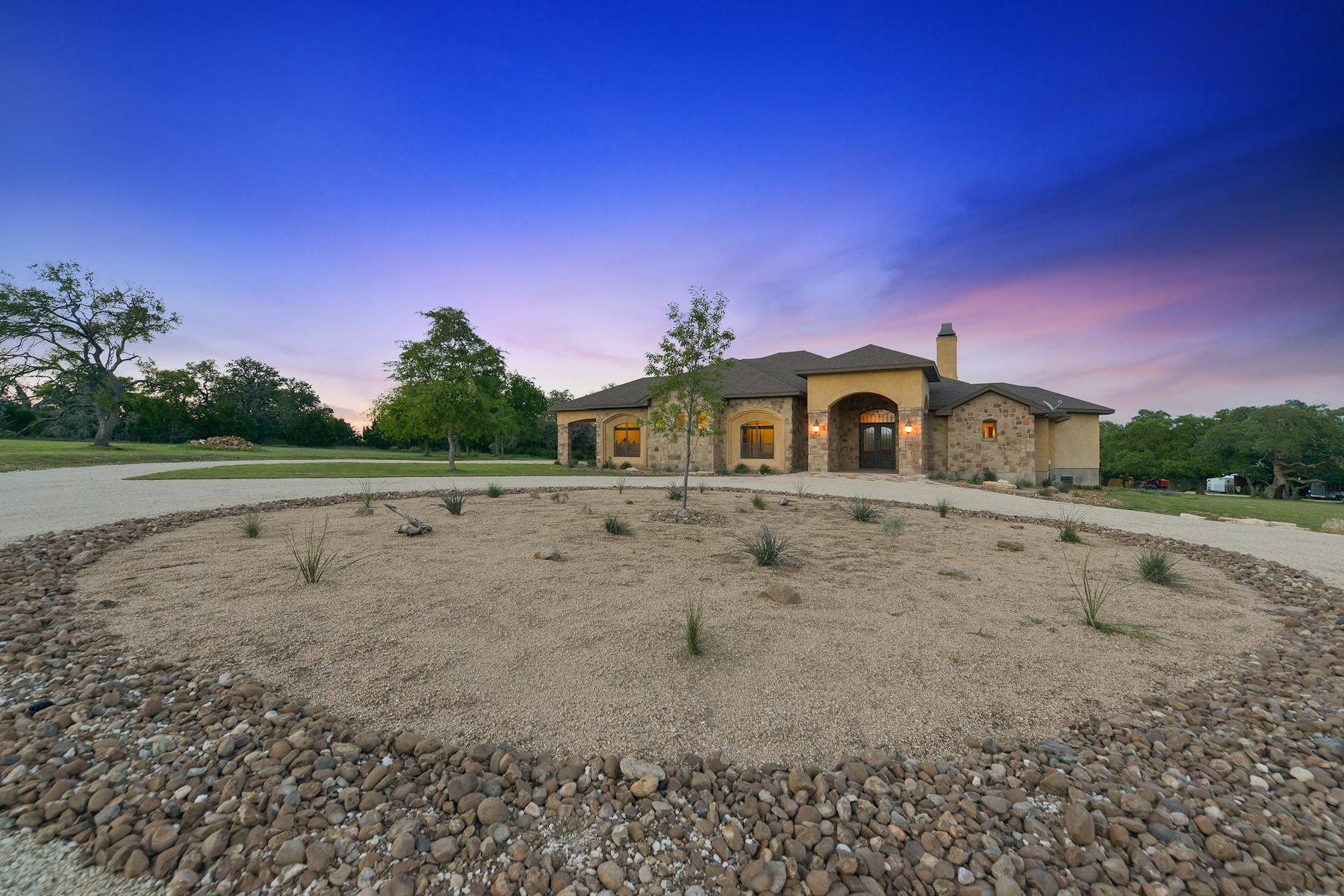 Casa Unifamiliar por un Venta en 15.84+/- Ac Premium Horse Property 47 Pfeiffer Rd Boerne, Texas 78006 Estados Unidos