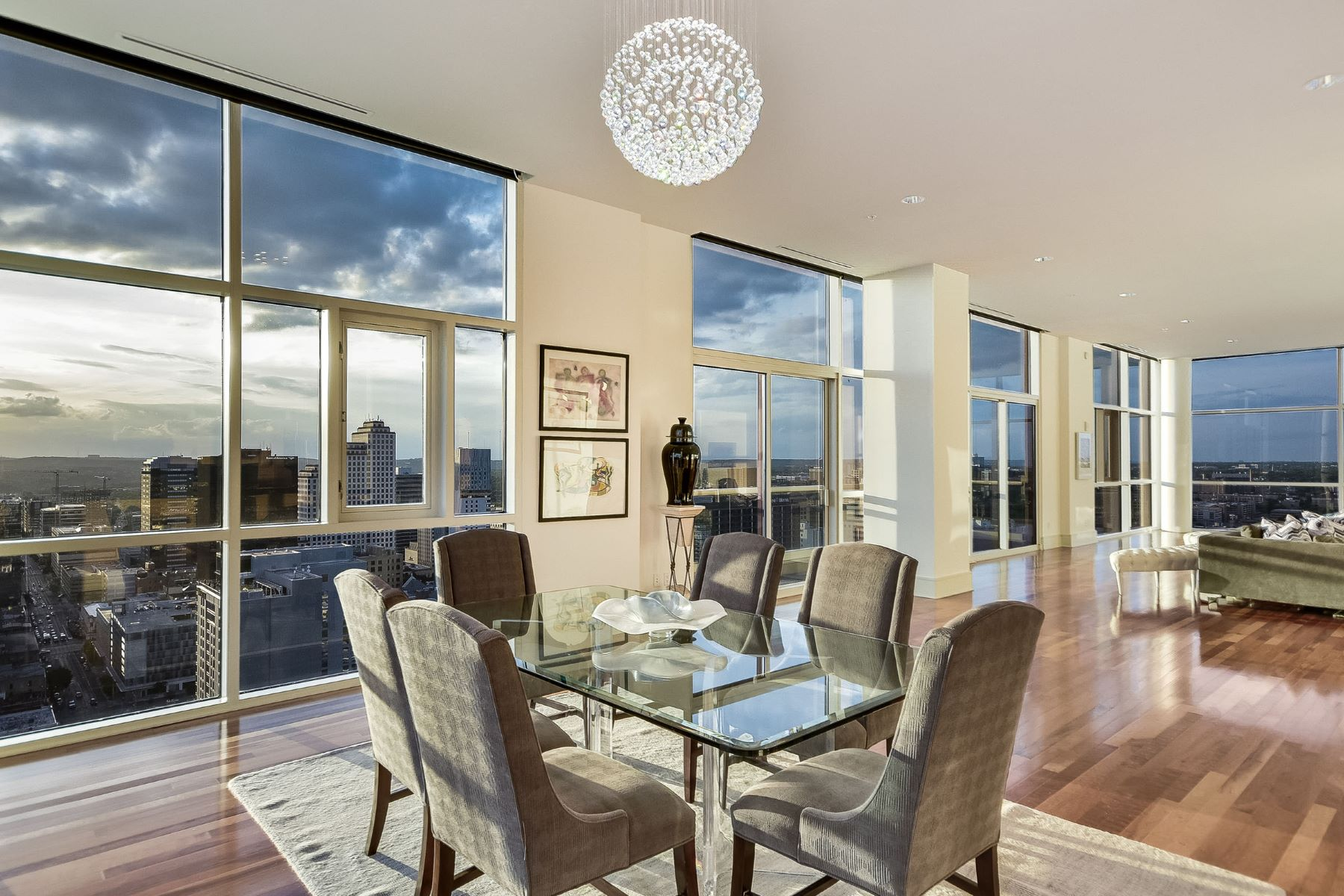 Condominium for Sale at Penthouse Style Condo with World Class Views 555 E 5th St 3006 Austin, Texas 78701 United States