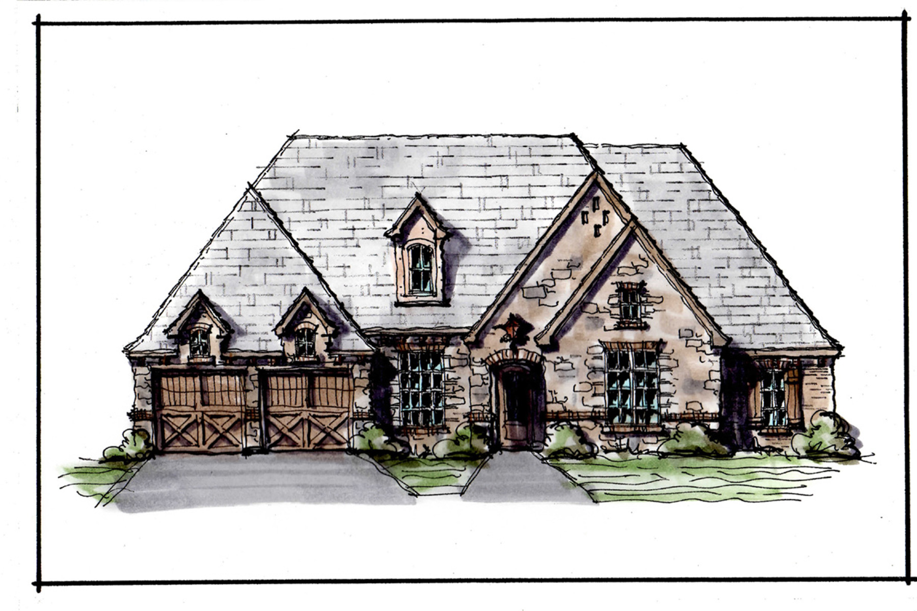 Single Family Home for Sale at New Costruction at La Cantera 8509 Tierra Ct Fort Worth, Texas, 76126 United States