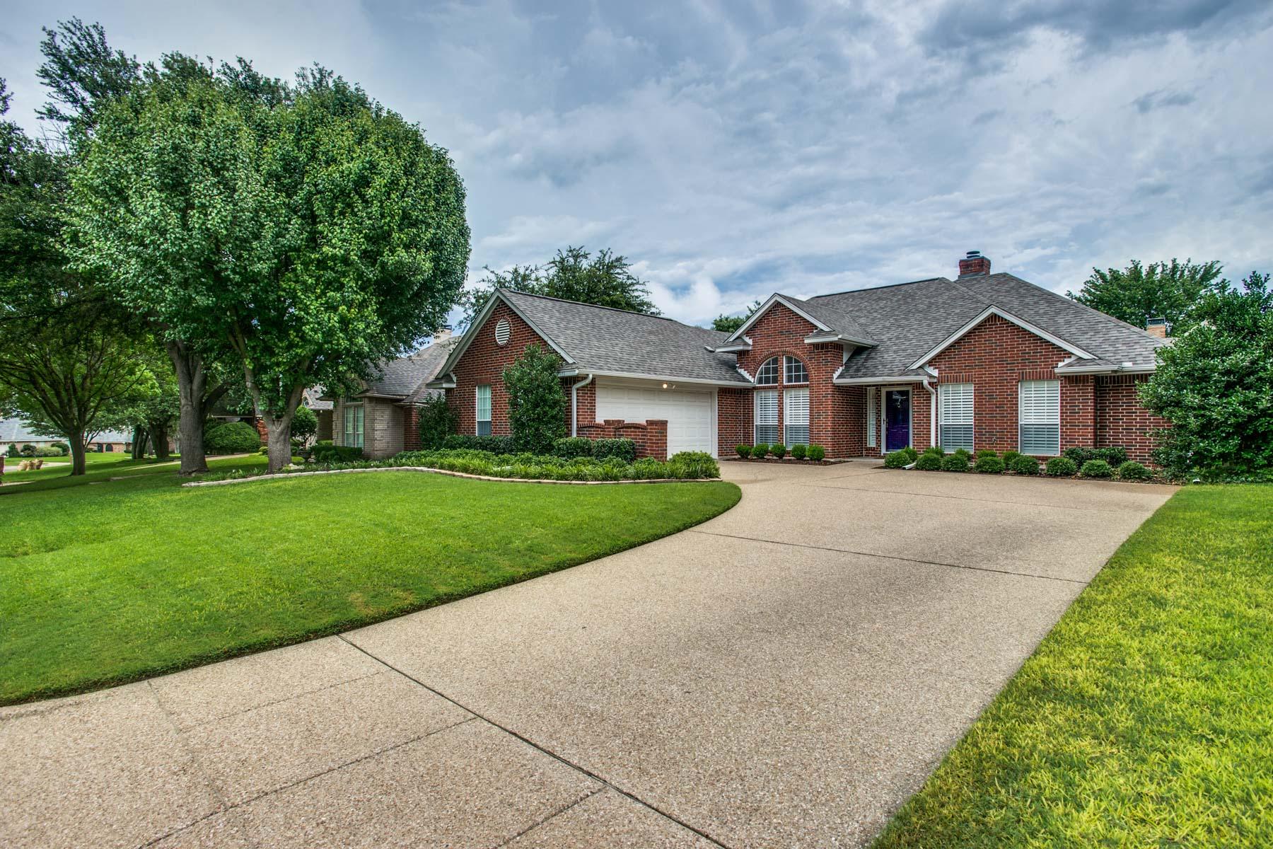 Maison unifamiliale pour l Vente à 7613 Ramble Wood Trail, Fort Worth 7613 Ramble Wood Trl Fort Worth, Texas, 76132 États-Unis