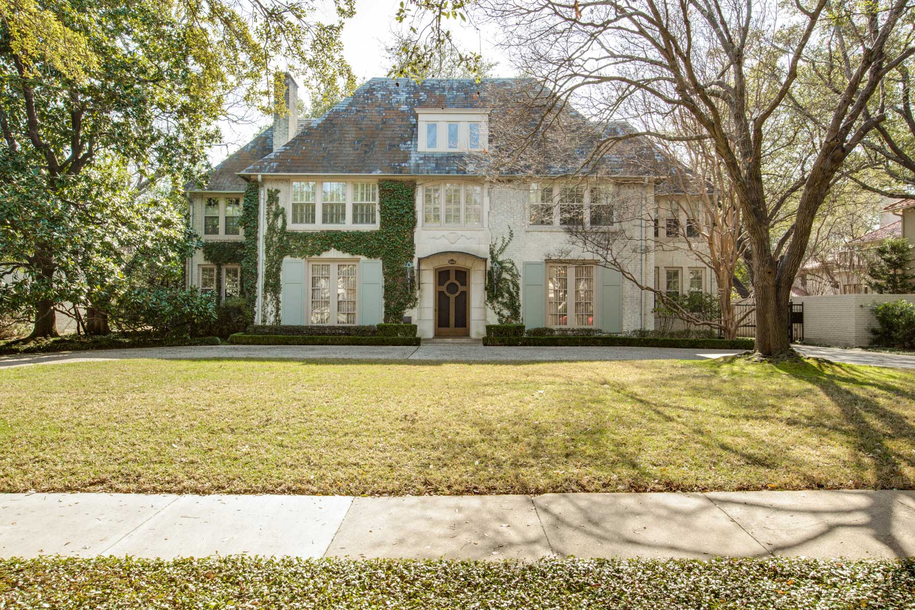 Single Family Home for Sale at Classic French Highland Park Gem 4229 Arcady Ave Dallas, Texas, 75205 United States