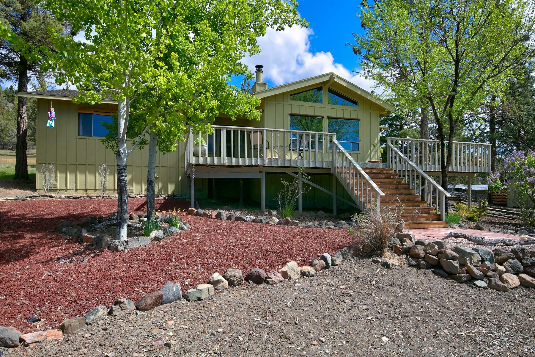 Maison unifamiliale pour l Vente à Whiskey Pine Ranch - Prineville, OR 4500 NE McKay Creek Rd Prineville, Oregon, 97754 États-Unis