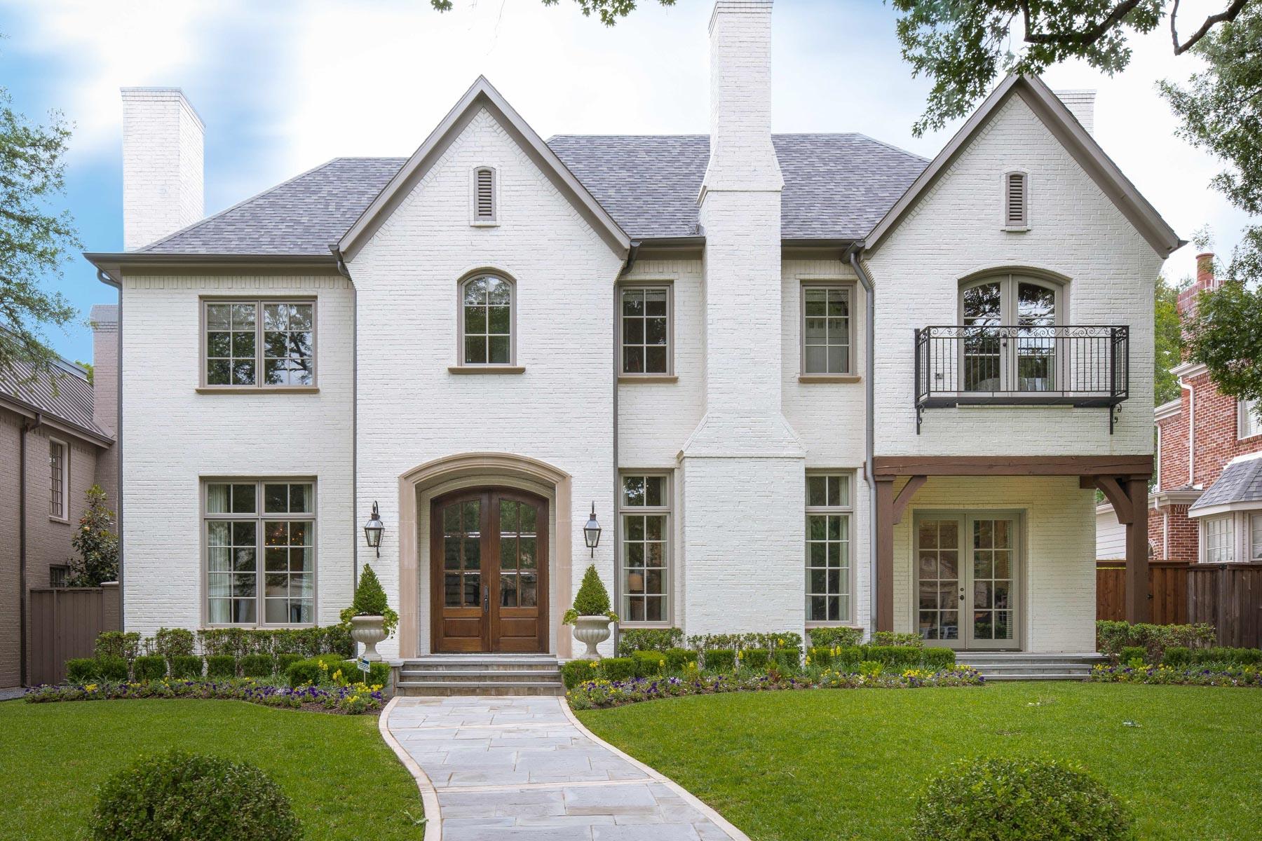 一戸建て のために 売買 アット University Park Traditional 3708 Greenbrier Dr Dallas, テキサス, 75225 アメリカ合衆国