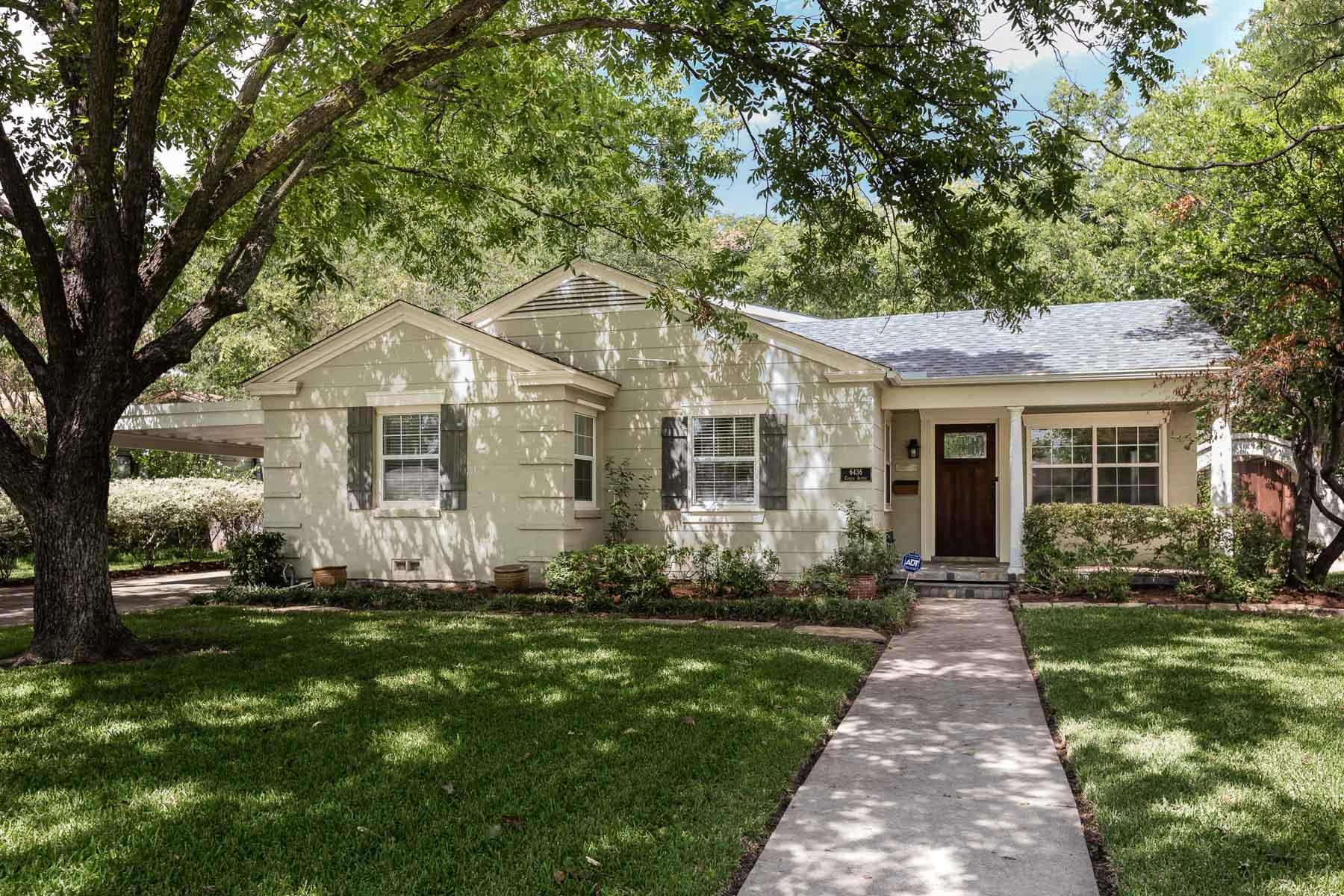 獨棟家庭住宅 為 出售 在 6436 Curzon Avenue, Fort Worth Fort Worth, 德克薩斯州, 76116 美國