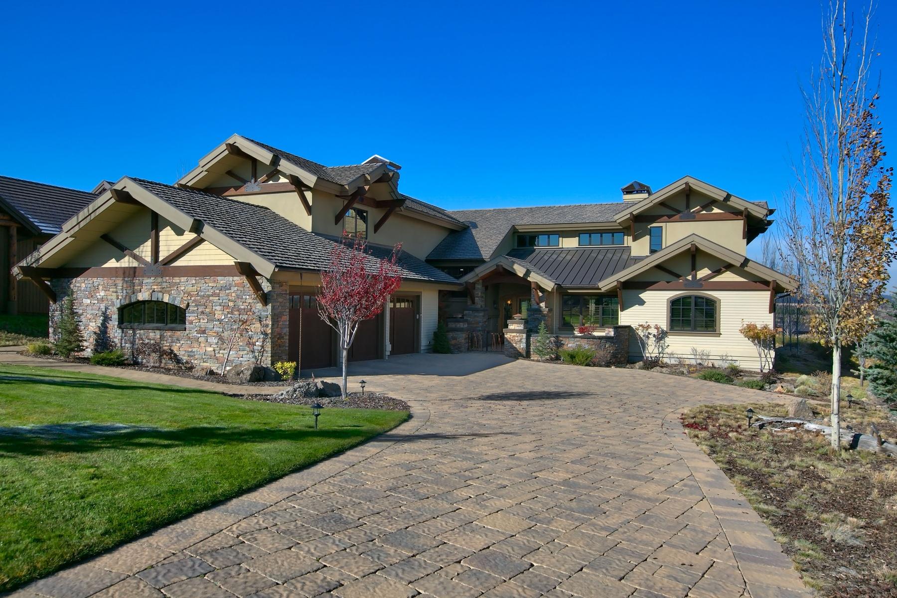 Maison unifamiliale pour l Vente à Exsquisite Custom Home in Tetherow 61451 Skene Trl Bend, Oregon, 97702 États-Unis