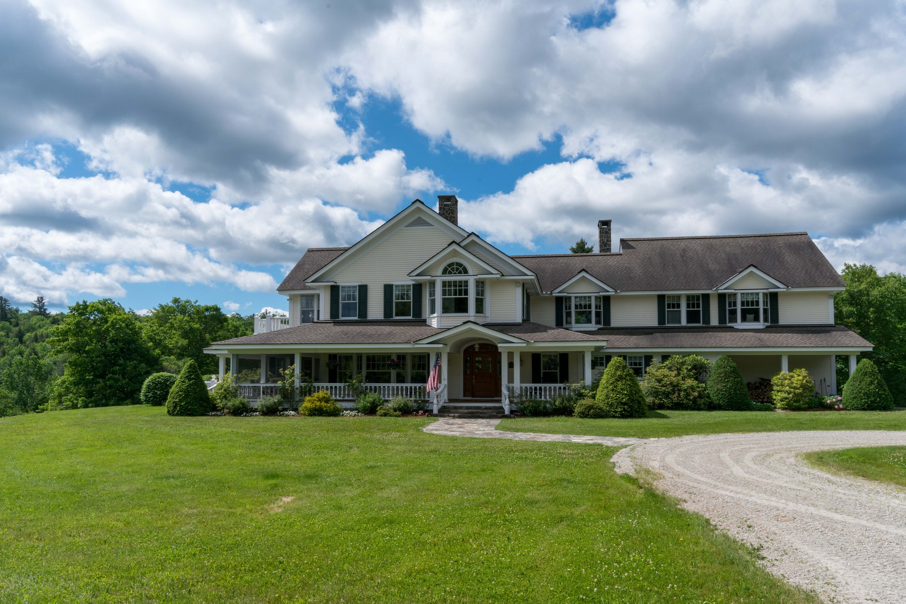 Single Family Home for Sale at Chance Hill Farm 636 Fowler Brook Rd Mount Holly, Vermont, 05758 United States
