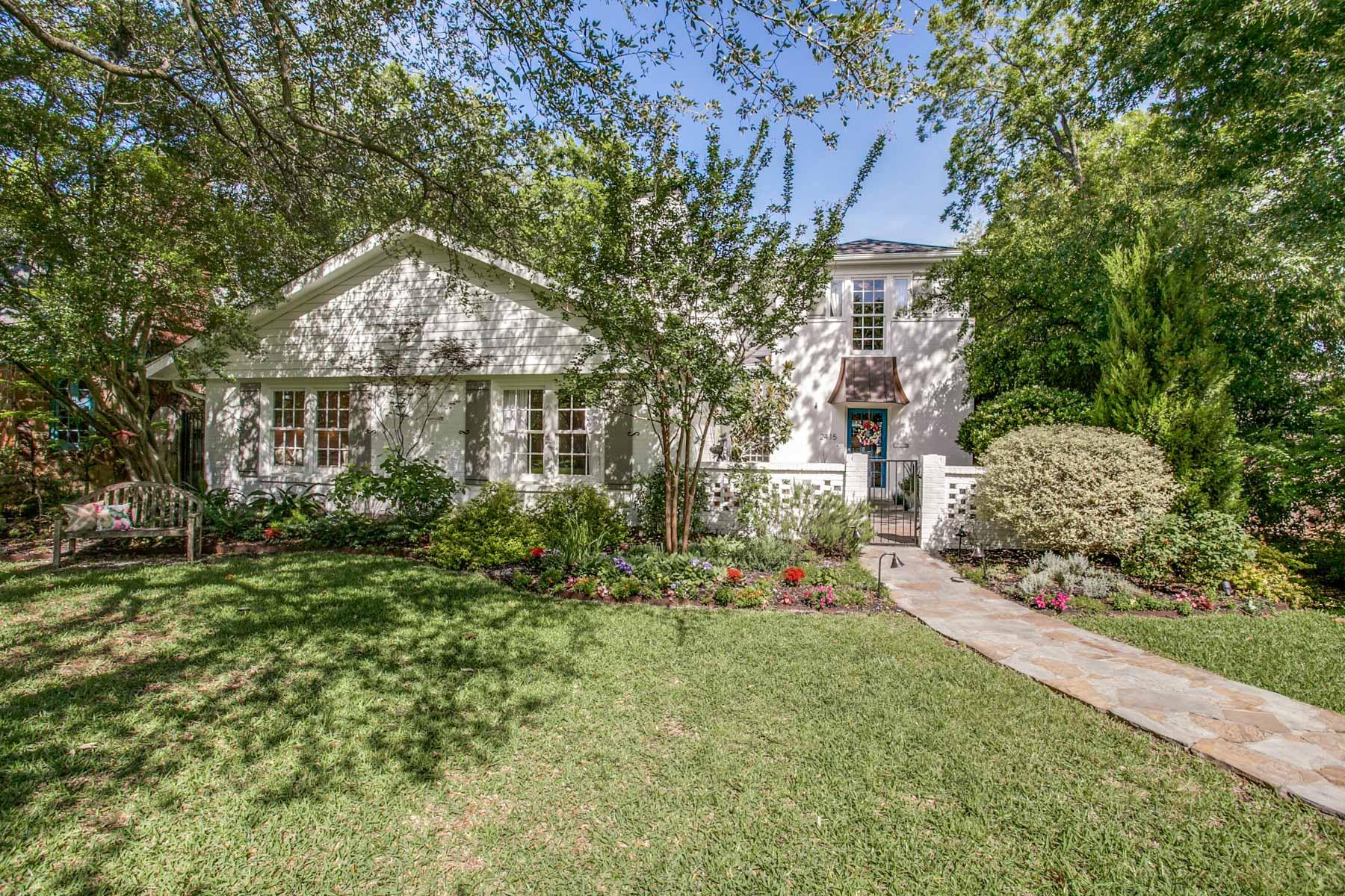 獨棟家庭住宅 為 出售 在 2415 Hillside Drive, Dallas Dallas, 德克薩斯州, 75214 美國