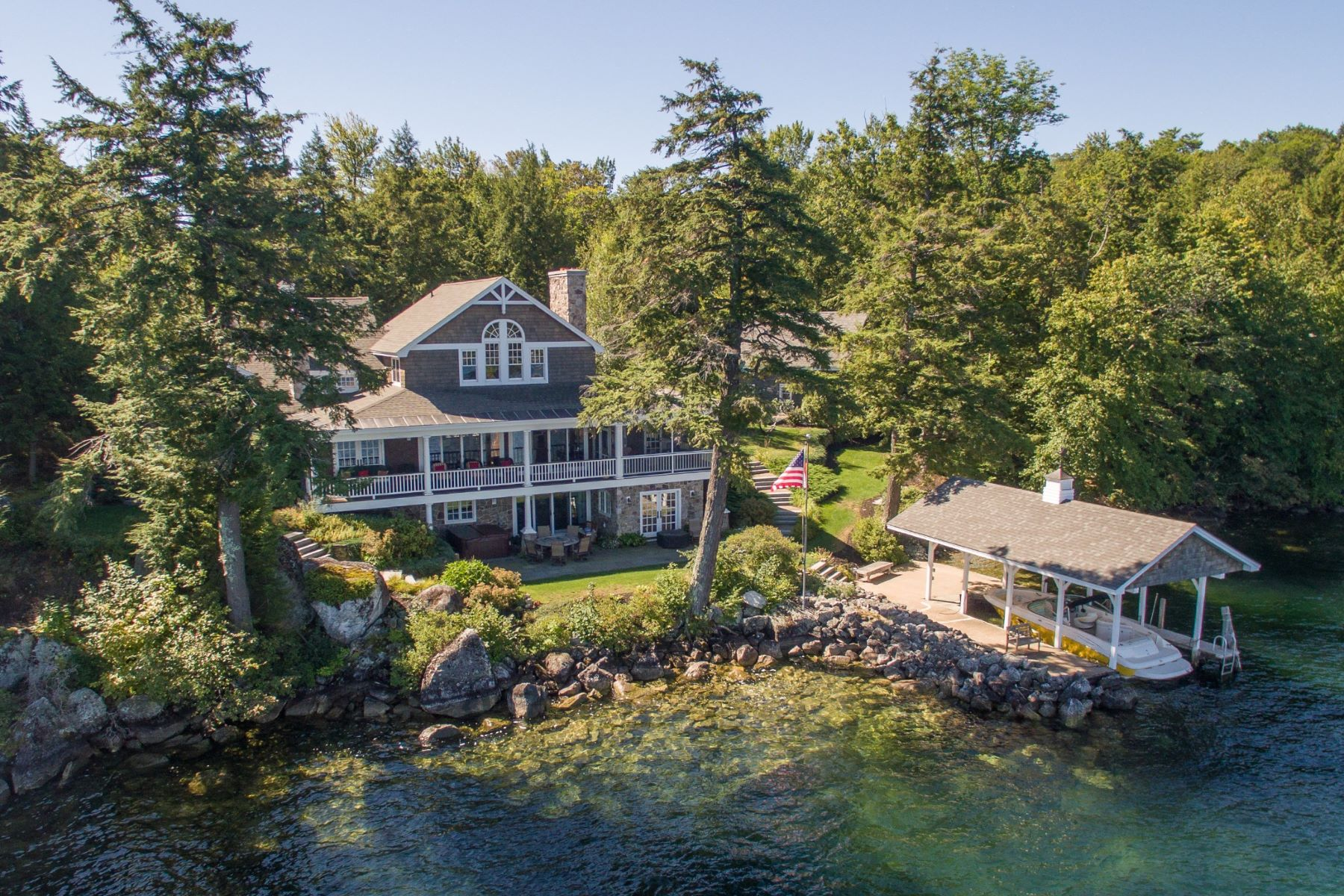 Single Family Home for Sale at Woodlands on Lake Winnipesaukee 280 Woodlands Rd Alton, New Hampshire, 03810 United States