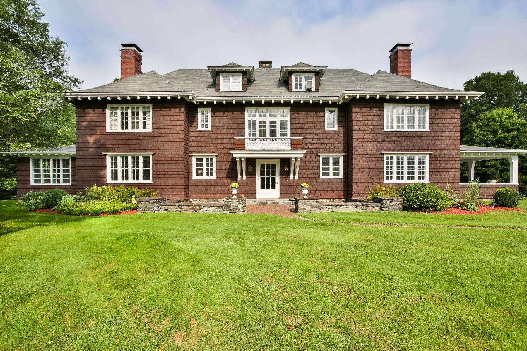 独户住宅 为 销售 在 Elegant Victorian home in Cornish Art Colony 231 Platt Rd 康沃尔, 新罕布什尔州, 03745 美国