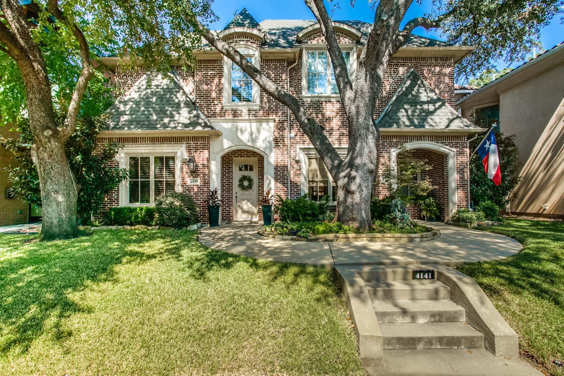 Einfamilienhaus für Verkauf beim 4139 Herschel Avenue, Dallas Dallas, Texas, 75219 Vereinigte Staaten