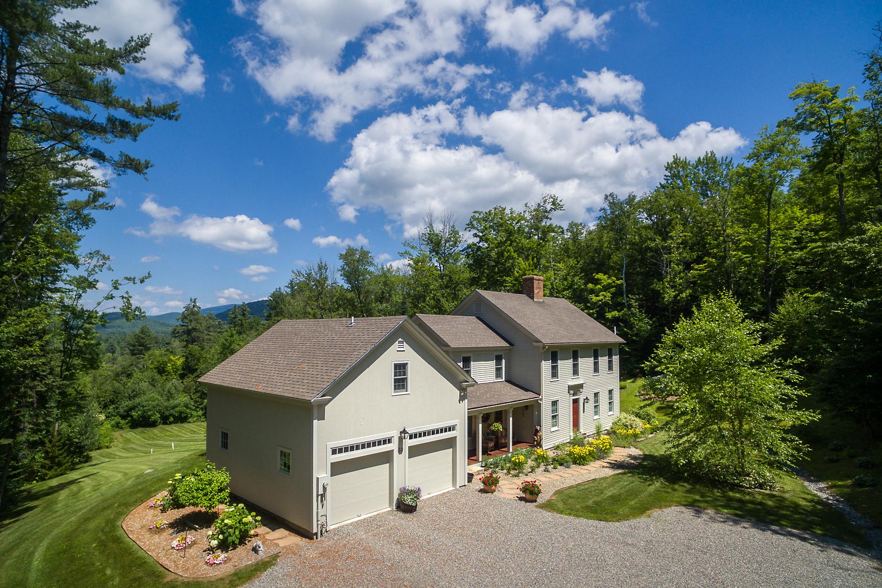 Частный односемейный дом для того Продажа на Welcome to Higher Ground! 50 Markham Ln Weston, Вермонт, 05161 Соединенные Штаты