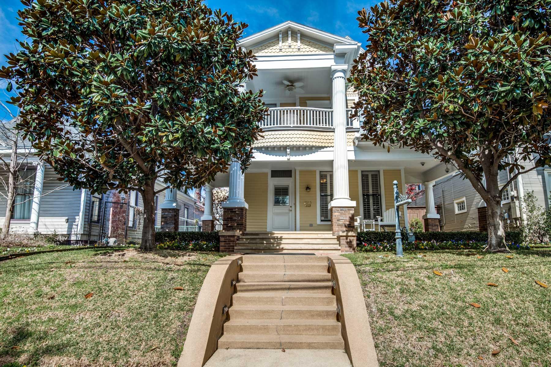 Tek Ailelik Ev için Satış at State Thomas Historical District Neo Classical 2515 Thomas Ave Dallas, Teksas, 75201 Amerika Birleşik Devletleri