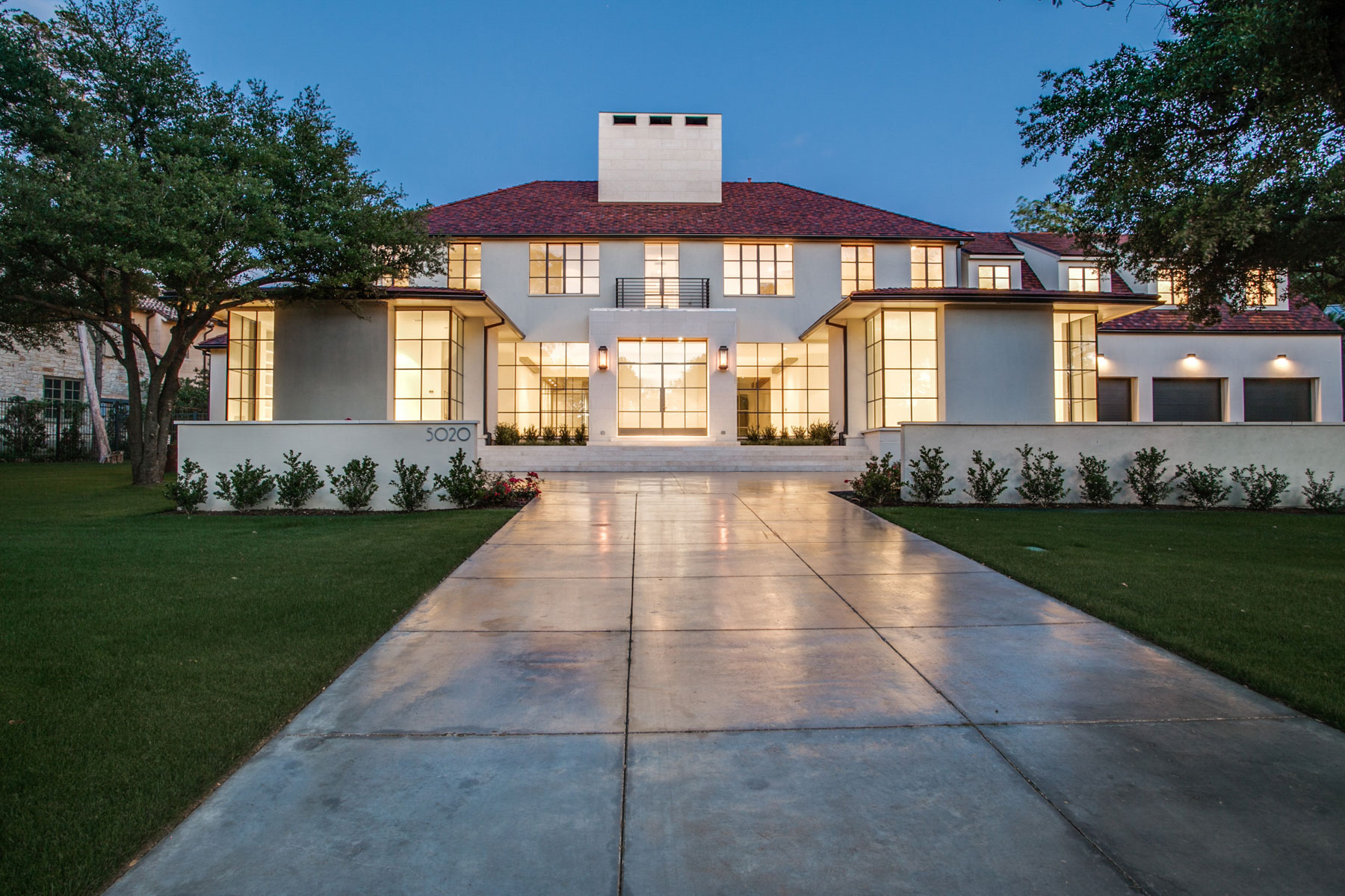 Single Family Home for Sale at Custom Estate in Old Preston Hollow 5020 Park Ln Dallas, Texas, 75220 United States