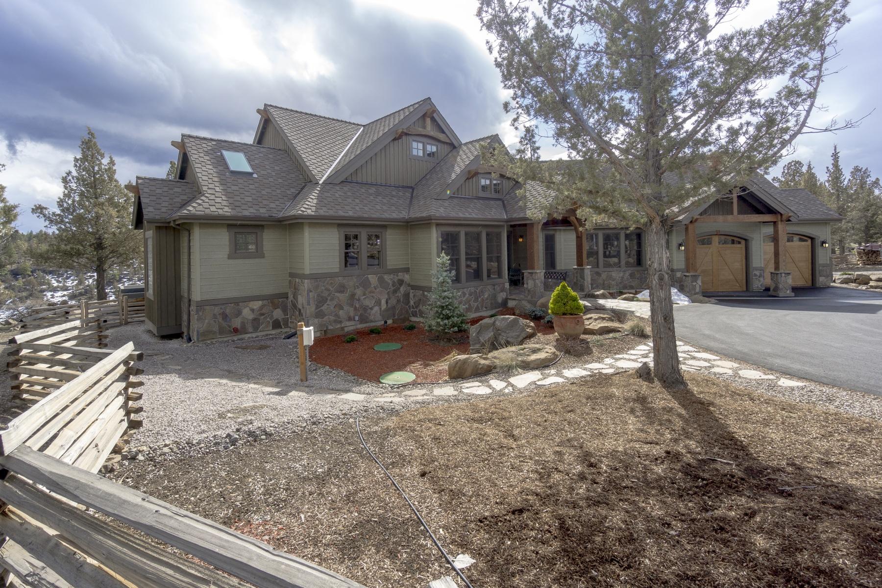 단독 가정 주택 용 매매 에 Squaw Creek Canoyon Estate 17485 Mountain Vw Sisters, 오레곤, 97759 미국